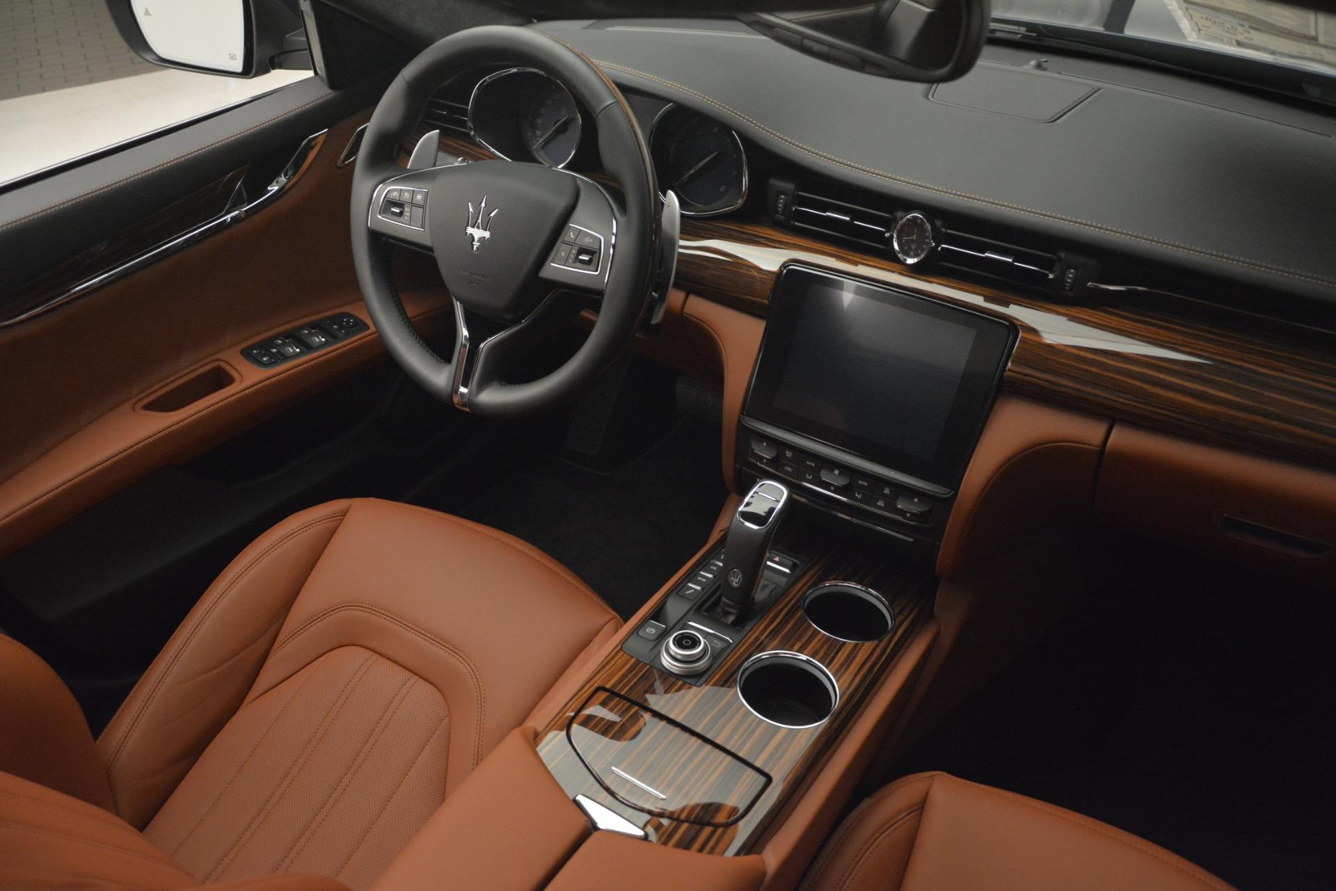New 2019 Maserati Quattroporte S Q4 GranLusso For Sale In Westport, CT 2803_p16