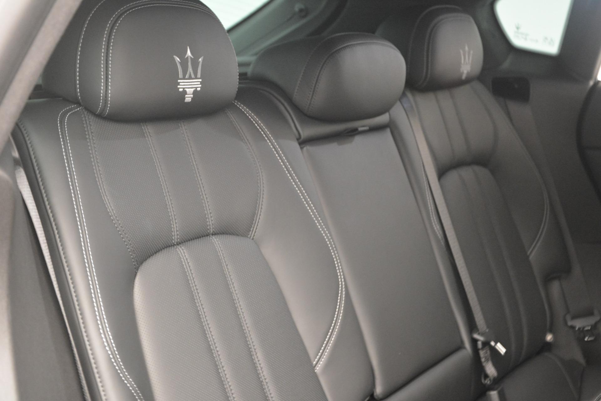 New 2019 Maserati Levante Q4 GranSport For Sale In Westport, CT 2806_p34