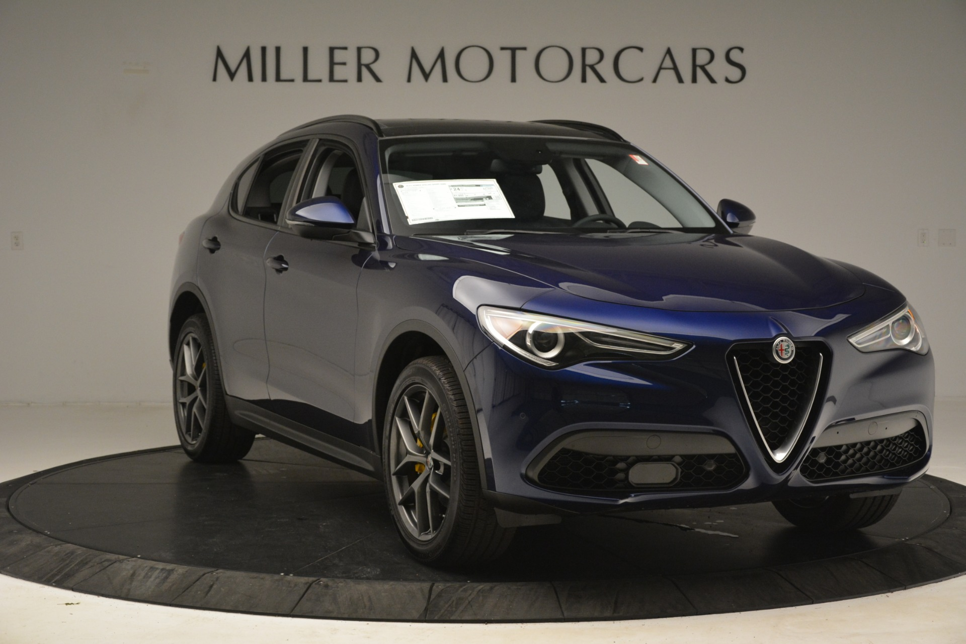 New 2019 Alfa Romeo Stelvio Sport Q4 For Sale In Westport, CT 2815_p11