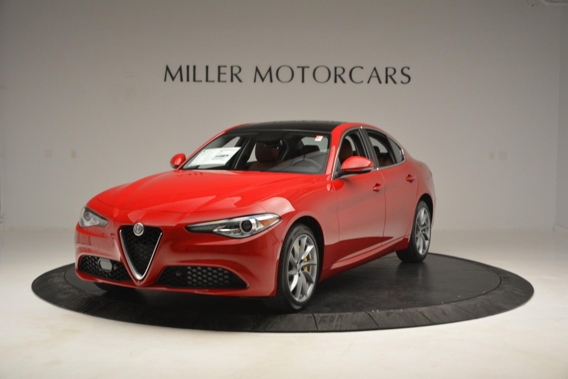 New 2019 Alfa Romeo Giulia Q4 For Sale In Westport, CT 2821_main