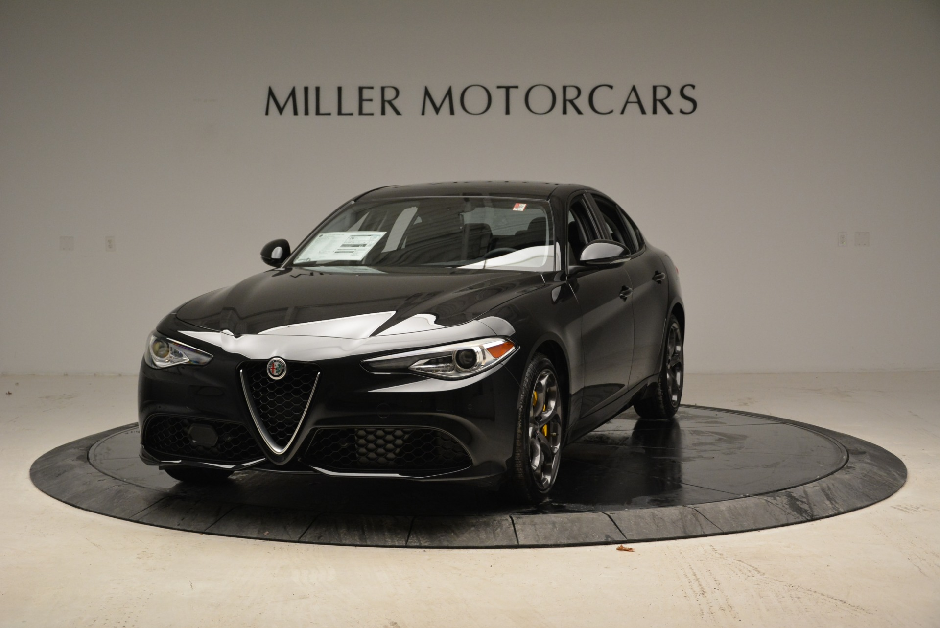 New 2019 Alfa Romeo Giulia Ti Sport Q4 For Sale In Westport, CT 2823_main