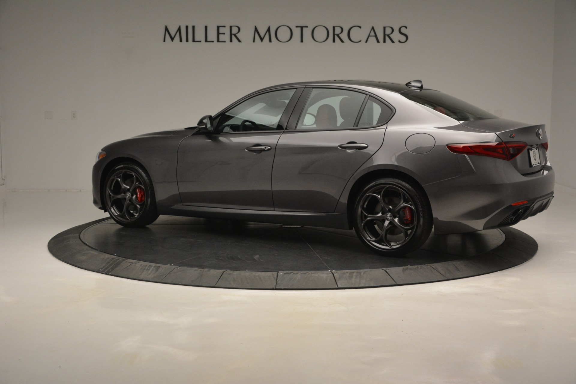 New 2019 Alfa Romeo Giulia Ti Sport Q4 For Sale In Westport, CT 2824_p4