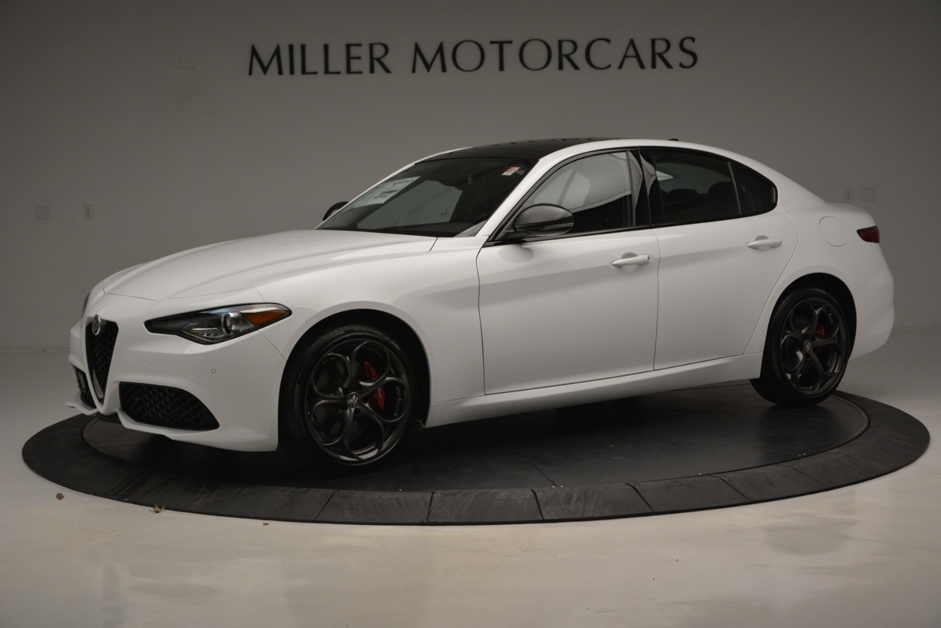New 2019 Alfa Romeo Giulia Ti Sport Q4 For Sale In Westport, CT 2826_p3