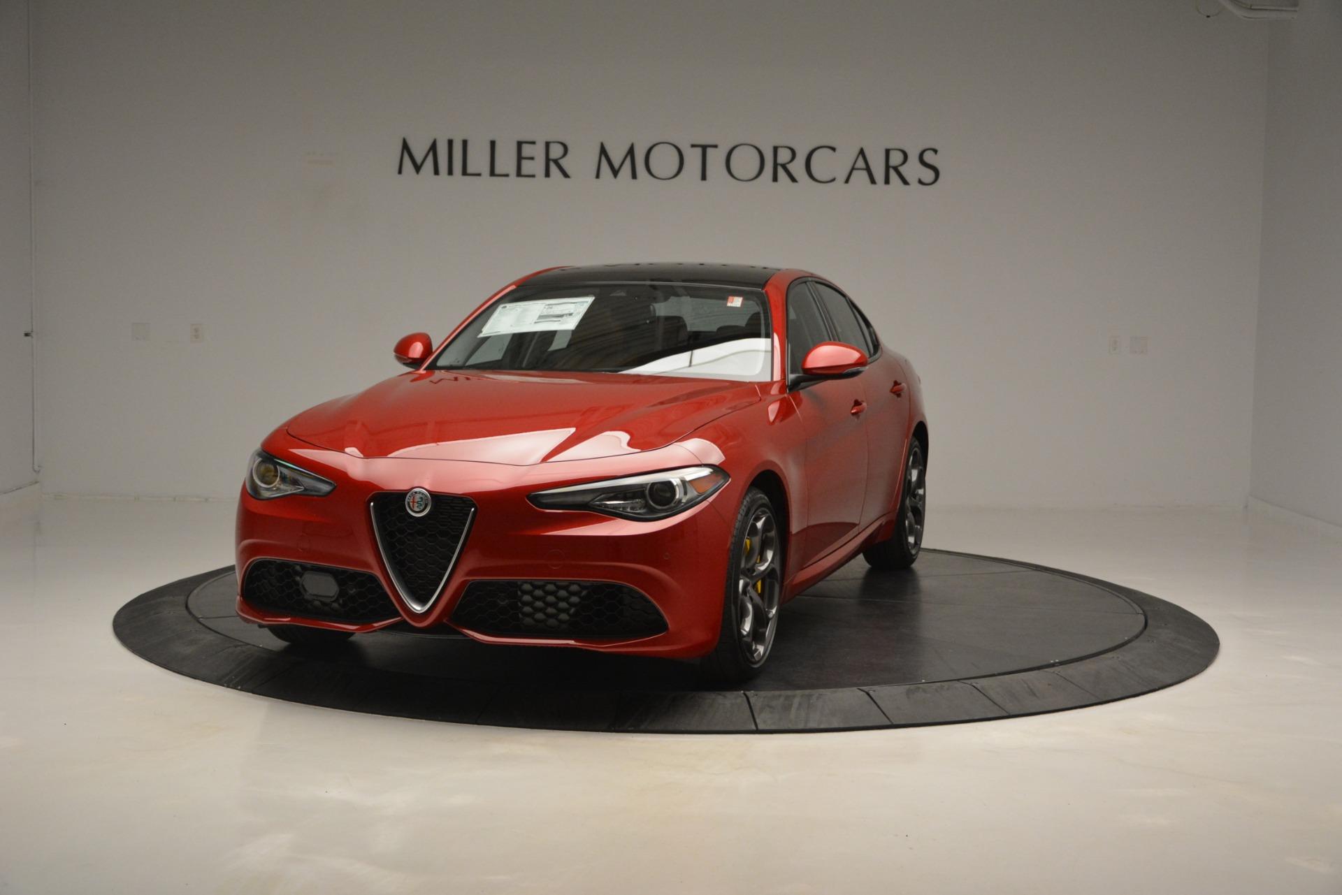 New 2019 Alfa Romeo Giulia Ti Sport Q4 For Sale In Westport, CT 2833_main