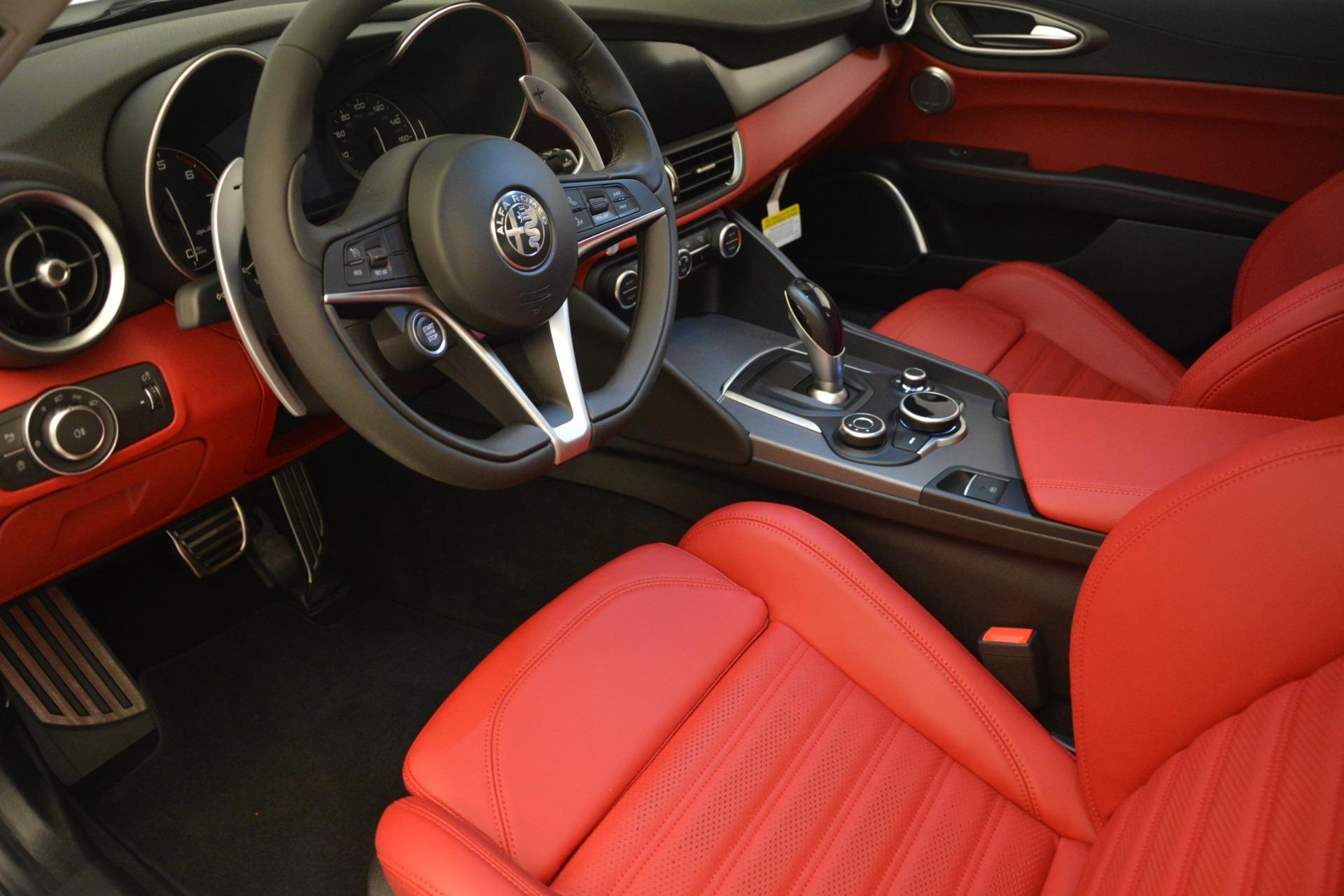 New 2019 Alfa Romeo Giulia Ti Sport Q4 For Sale In Westport, CT 2834_p13