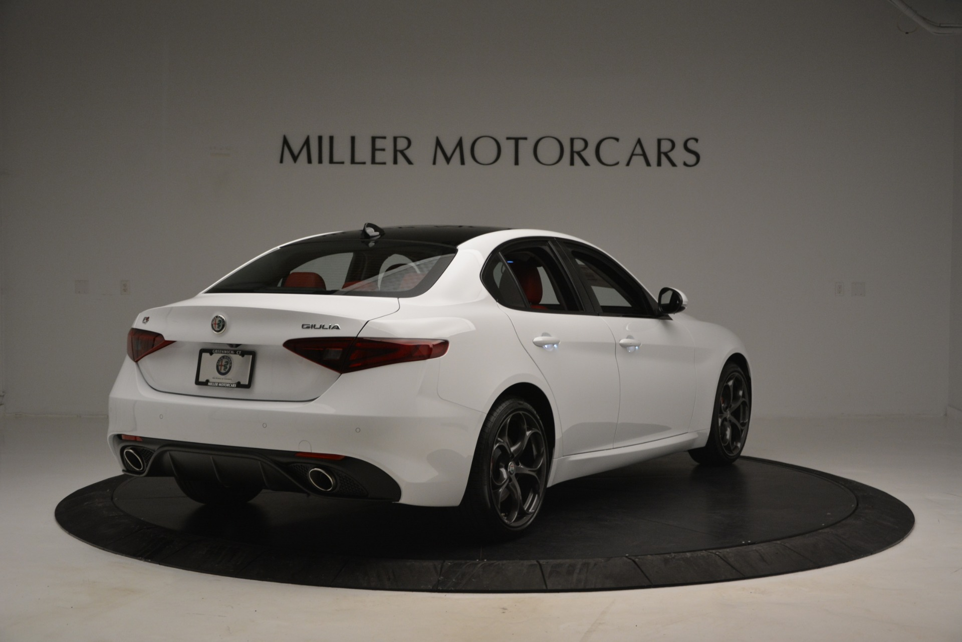 New 2019 Alfa Romeo Giulia Ti Sport Q4 For Sale In Westport, CT 2839_p7
