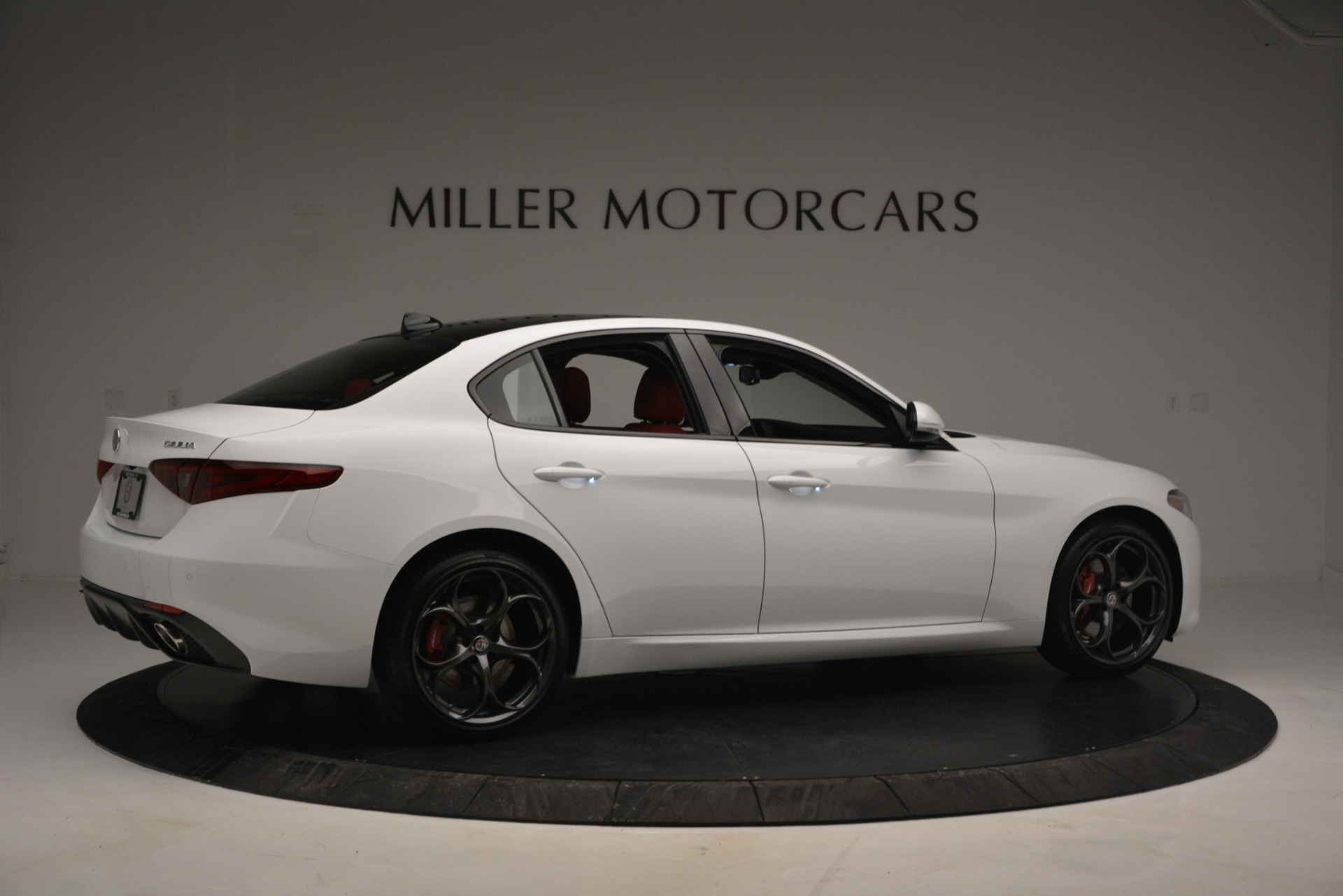 New 2019 Alfa Romeo Giulia Ti Sport Q4 For Sale In Westport, CT 2839_p8