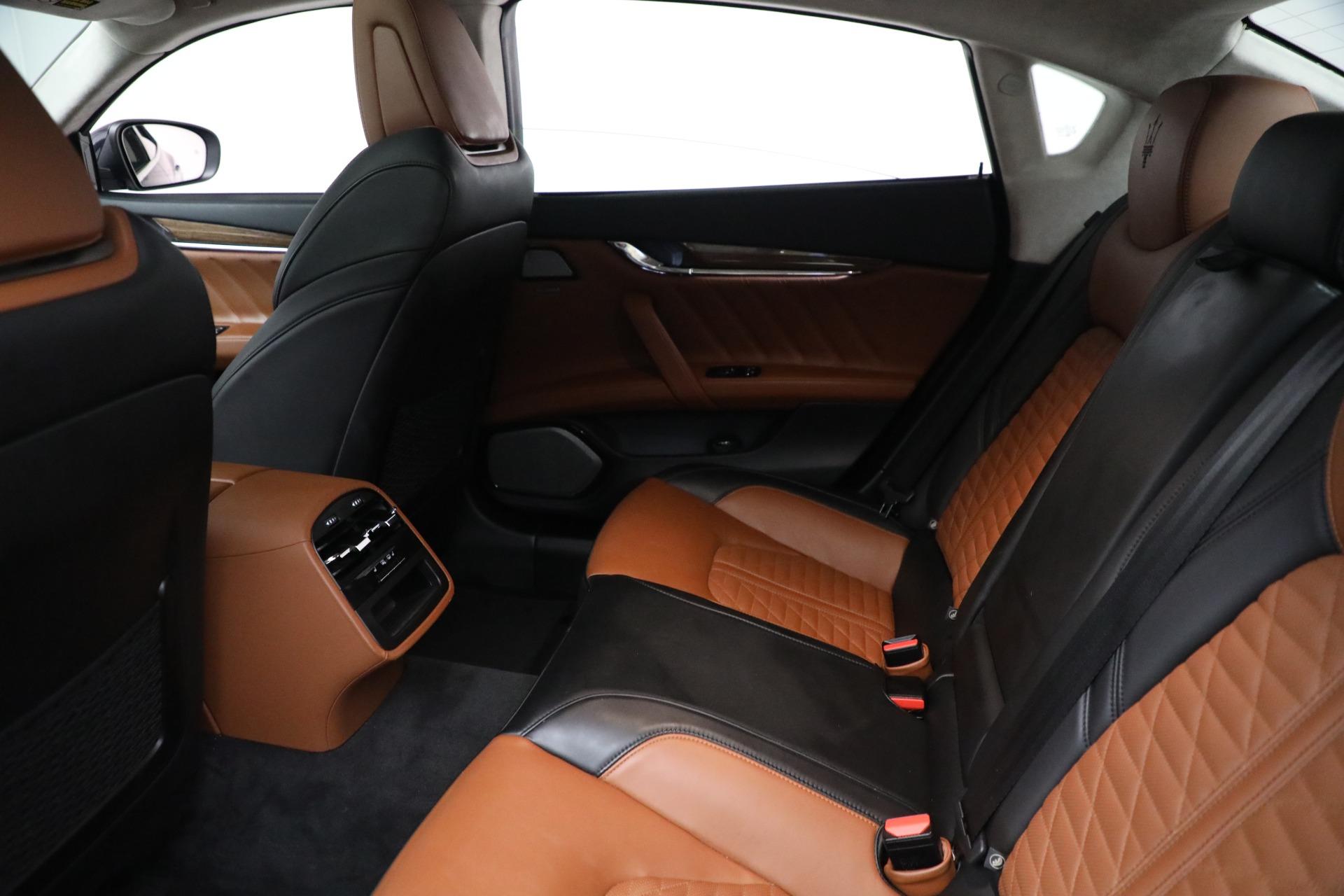 New 2019 Maserati Quattroporte S Q4 GranLusso Edizione Nobile For Sale In Westport, CT 2858_p18