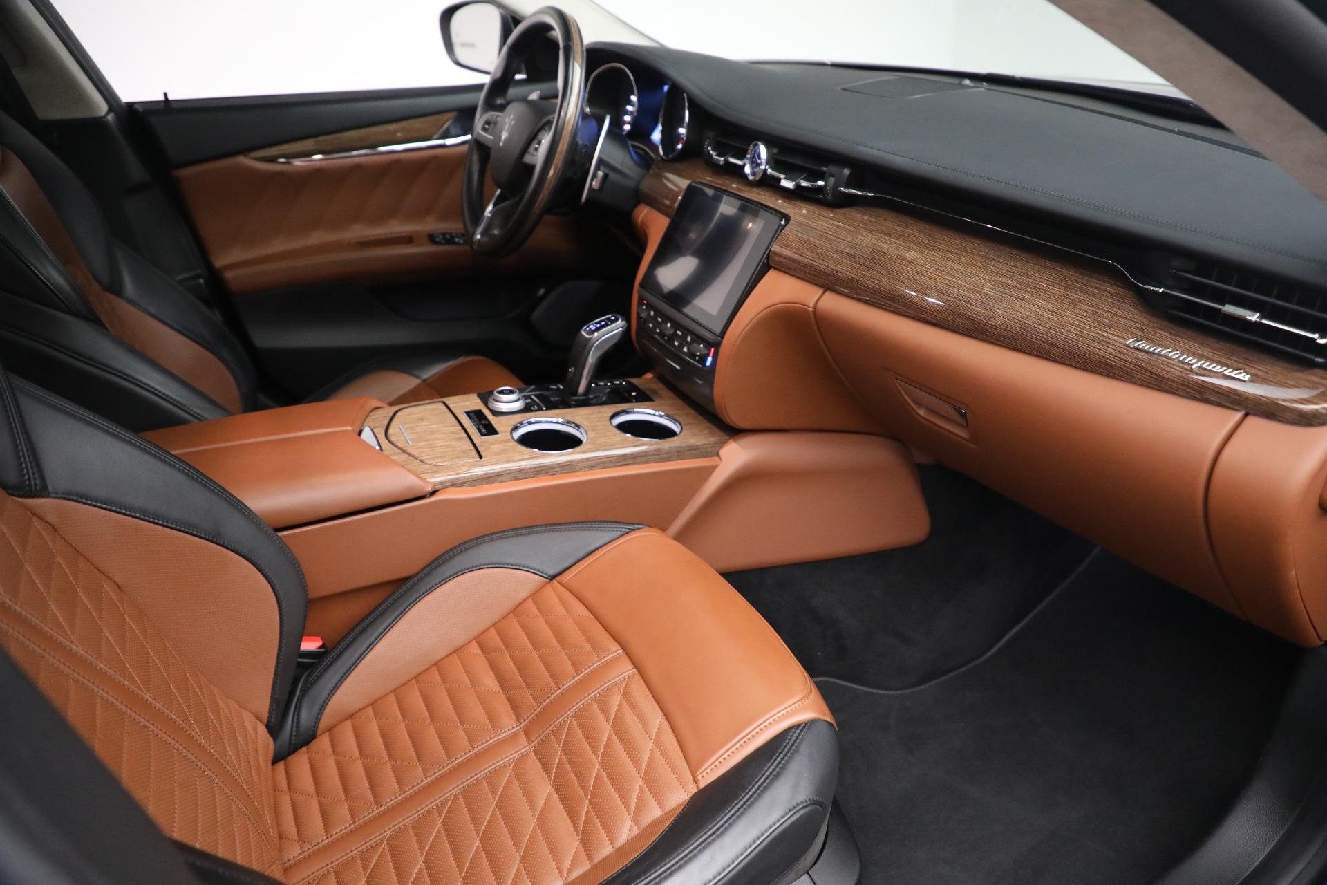 New 2019 Maserati Quattroporte S Q4 GranLusso Edizione Nobile For Sale In Westport, CT 2858_p20