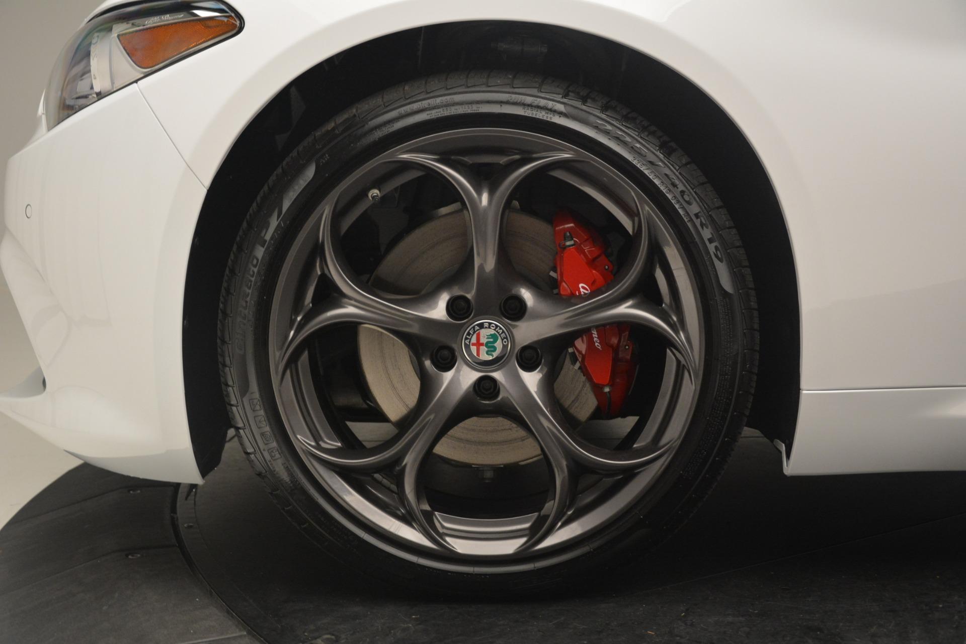 New 2019 Alfa Romeo Giulia Ti Sport Q4 For Sale In Westport, CT 2859_p30