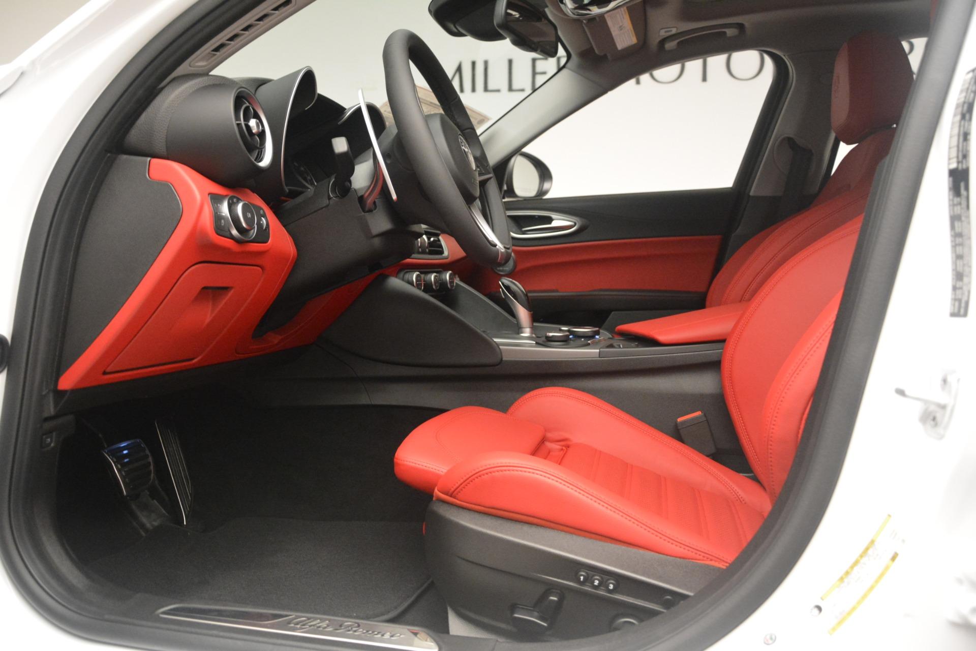 New 2019 Alfa Romeo Giulia Ti Sport Q4 For Sale In Westport, CT 2861_p14
