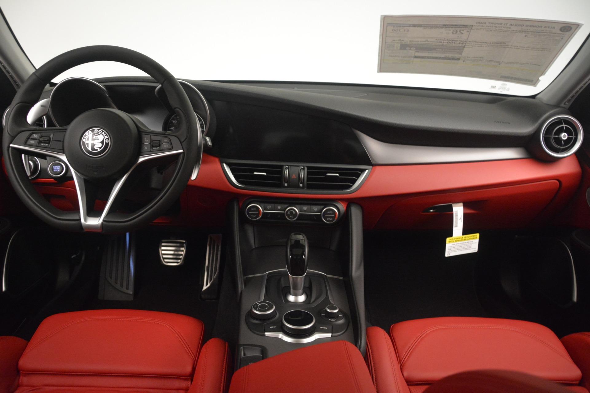 New 2019 Alfa Romeo Giulia Ti Sport Q4 For Sale In Westport, CT 2861_p16