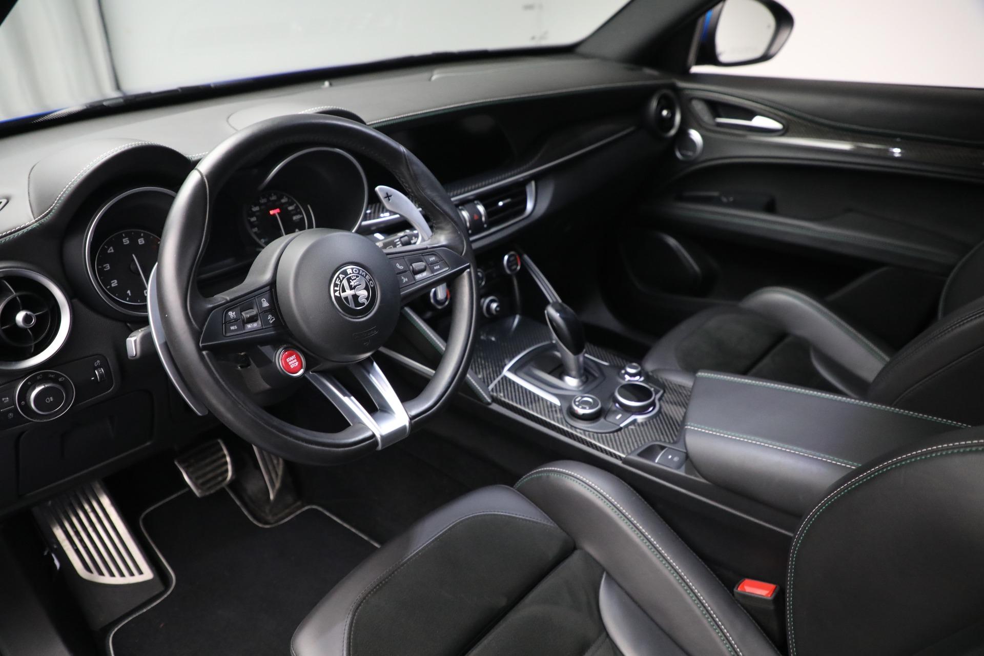New 2019 Alfa Romeo Stelvio Quadrifoglio For Sale In Westport, CT 2867_p13