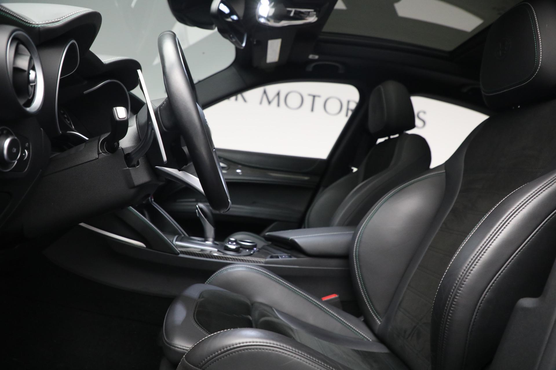 New 2019 Alfa Romeo Stelvio Quadrifoglio For Sale In Westport, CT 2867_p14