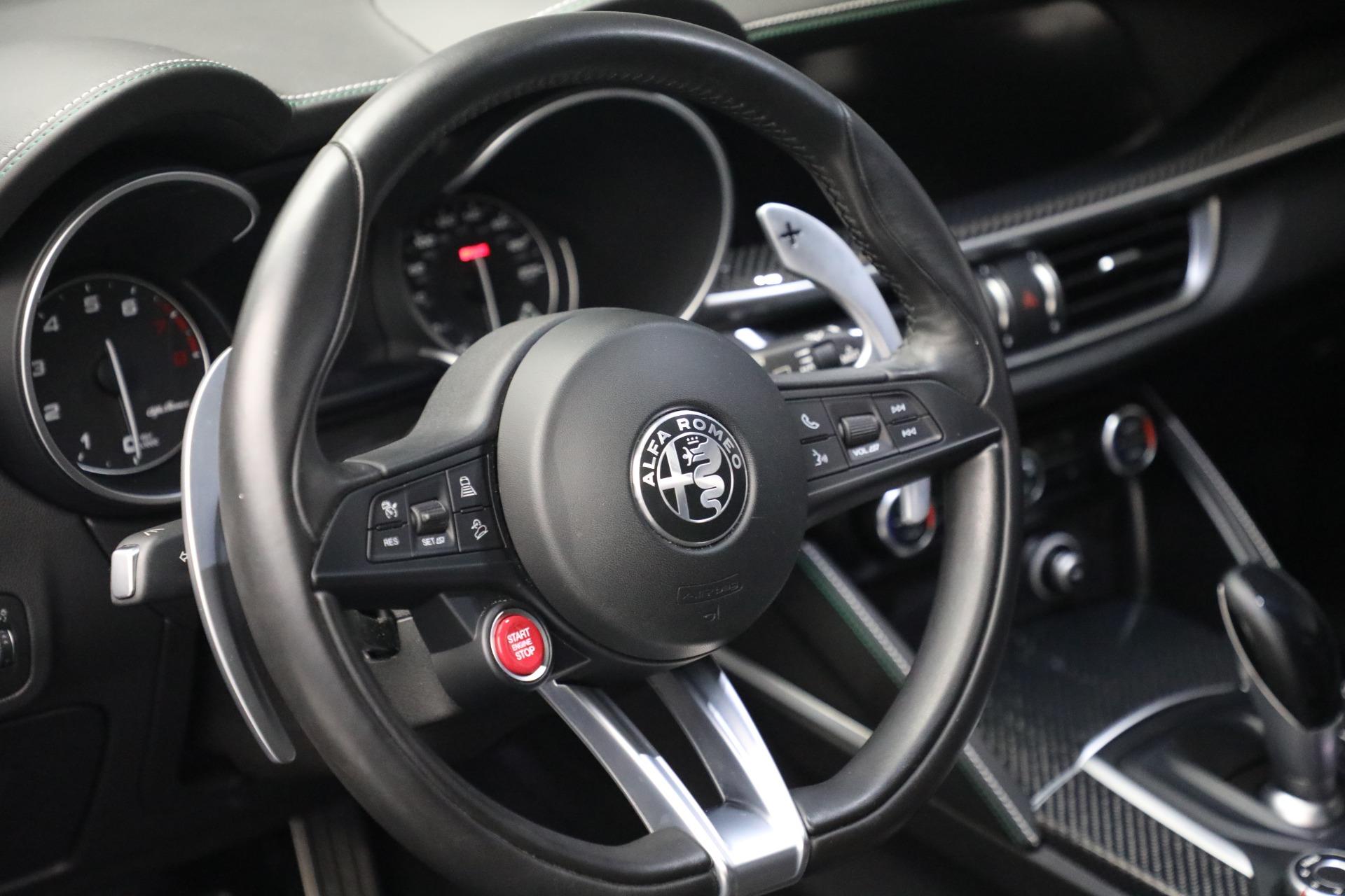 New 2019 Alfa Romeo Stelvio Quadrifoglio For Sale In Westport, CT 2867_p17