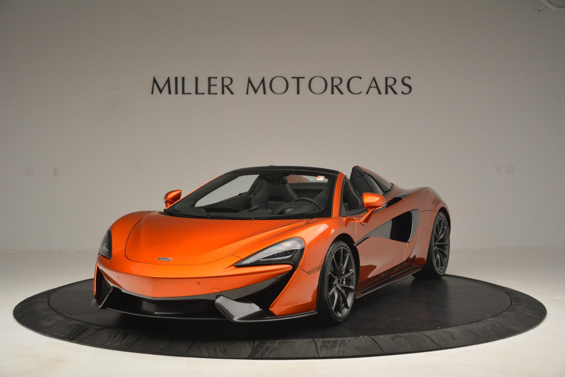 New 2019 McLaren 570S Spider Convertible For Sale In Westport, CT 2872_main