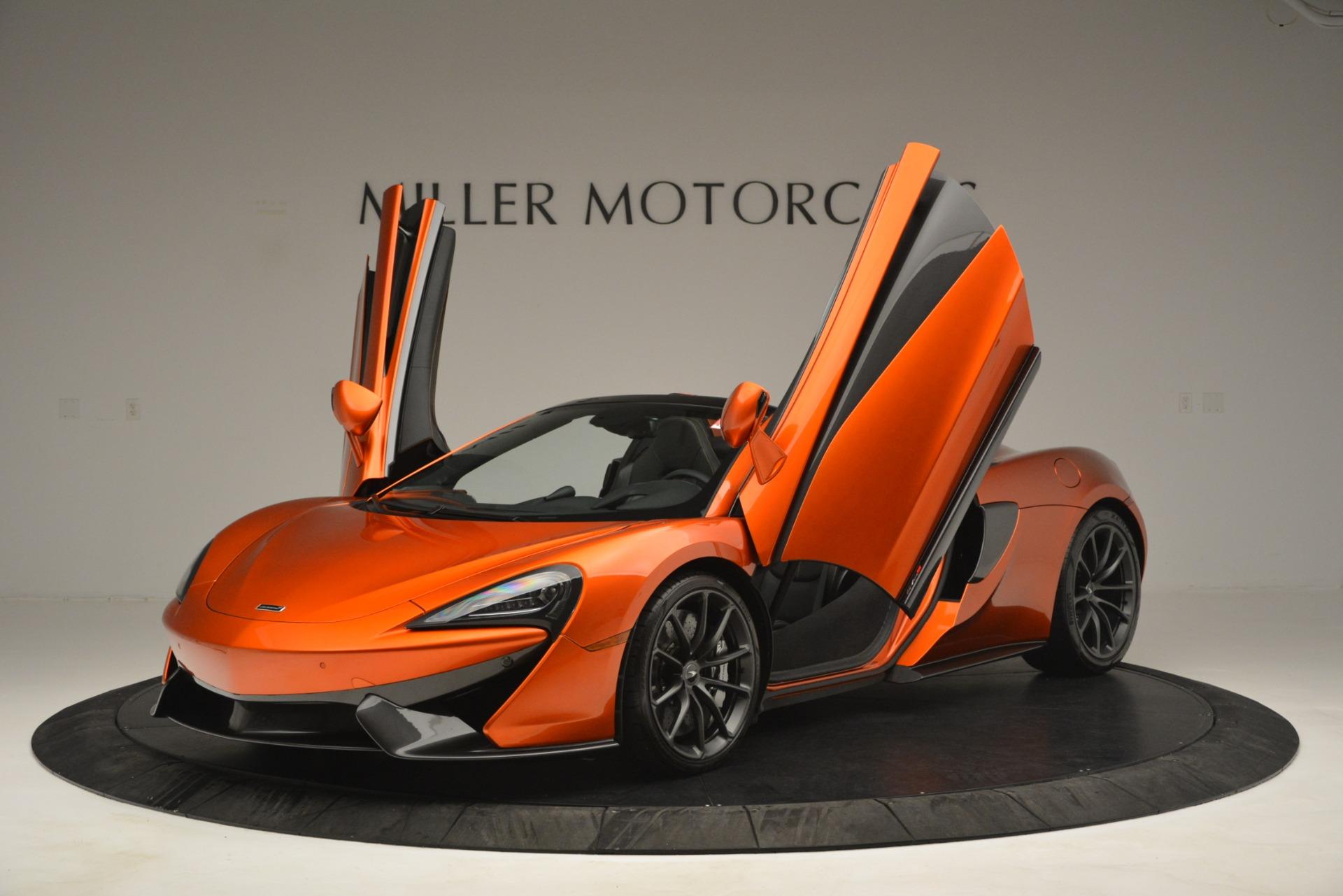New 2019 McLaren 570S Spider Convertible For Sale In Westport, CT 2872_p13