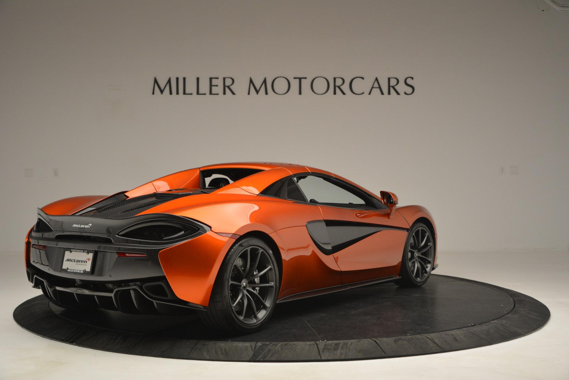 New 2019 McLaren 570S Spider Convertible For Sale In Westport, CT 2872_p19