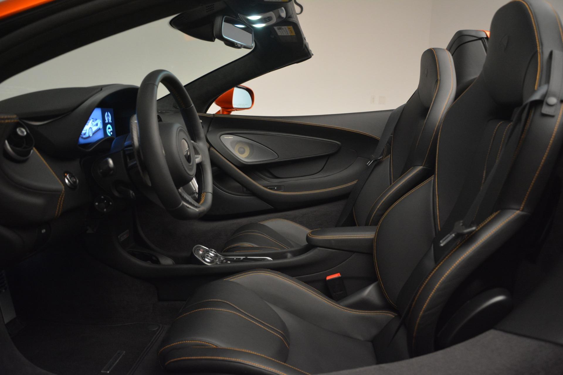 New 2019 McLaren 570S Spider Convertible For Sale In Westport, CT 2872_p24