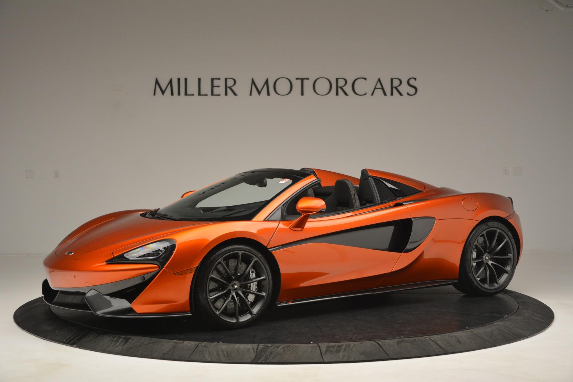 New 2019 McLaren 570S Spider Convertible For Sale In Westport, CT 2872_p2