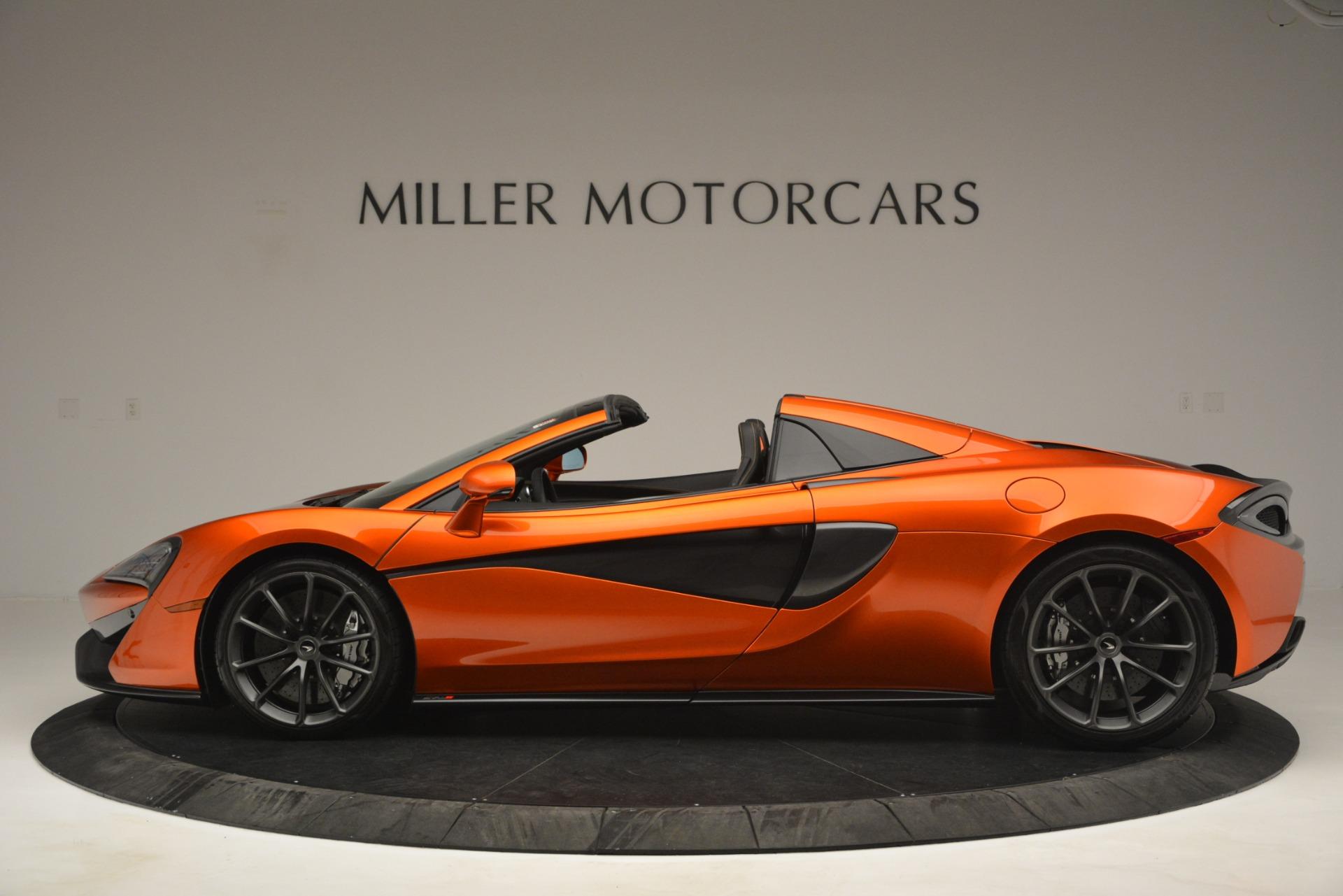 New 2019 McLaren 570S Spider Convertible For Sale In Westport, CT 2872_p3
