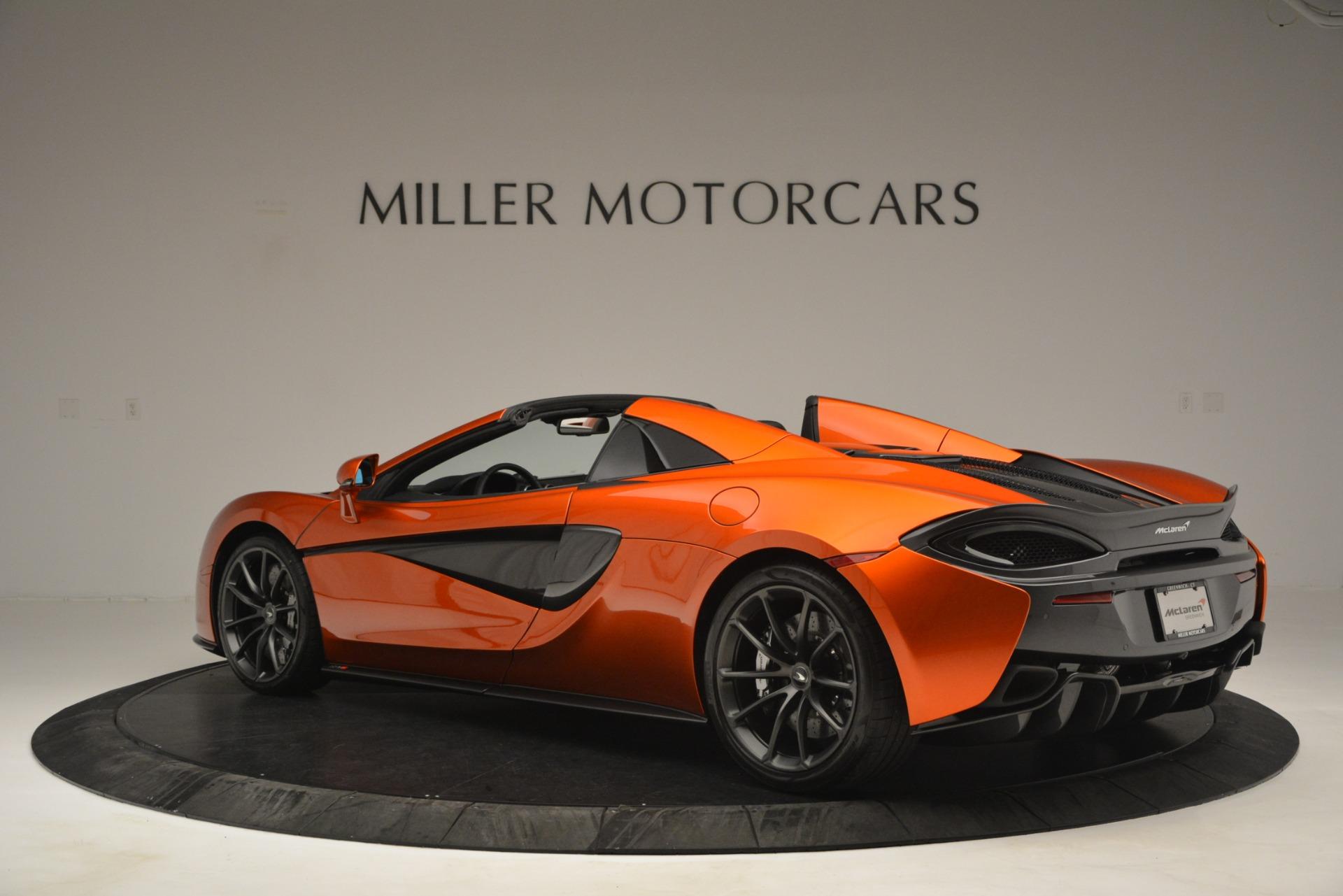 New 2019 McLaren 570S Spider Convertible For Sale In Westport, CT 2872_p4