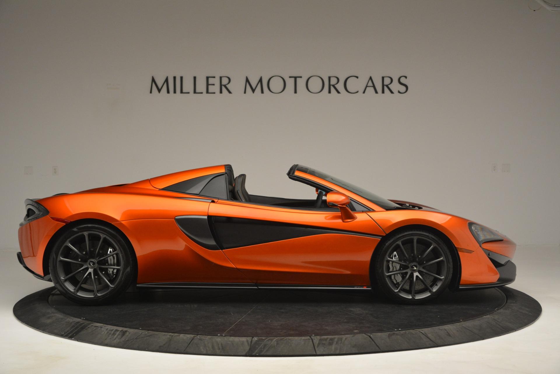 New 2019 McLaren 570S Spider Convertible For Sale In Westport, CT 2872_p9
