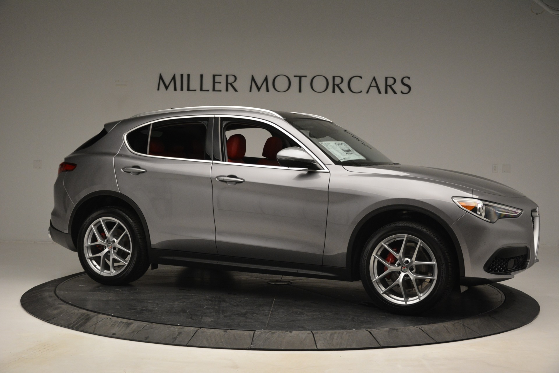 New 2019 Alfa Romeo Stelvio Ti Lusso Q4 For Sale In Westport, CT 2873_p10