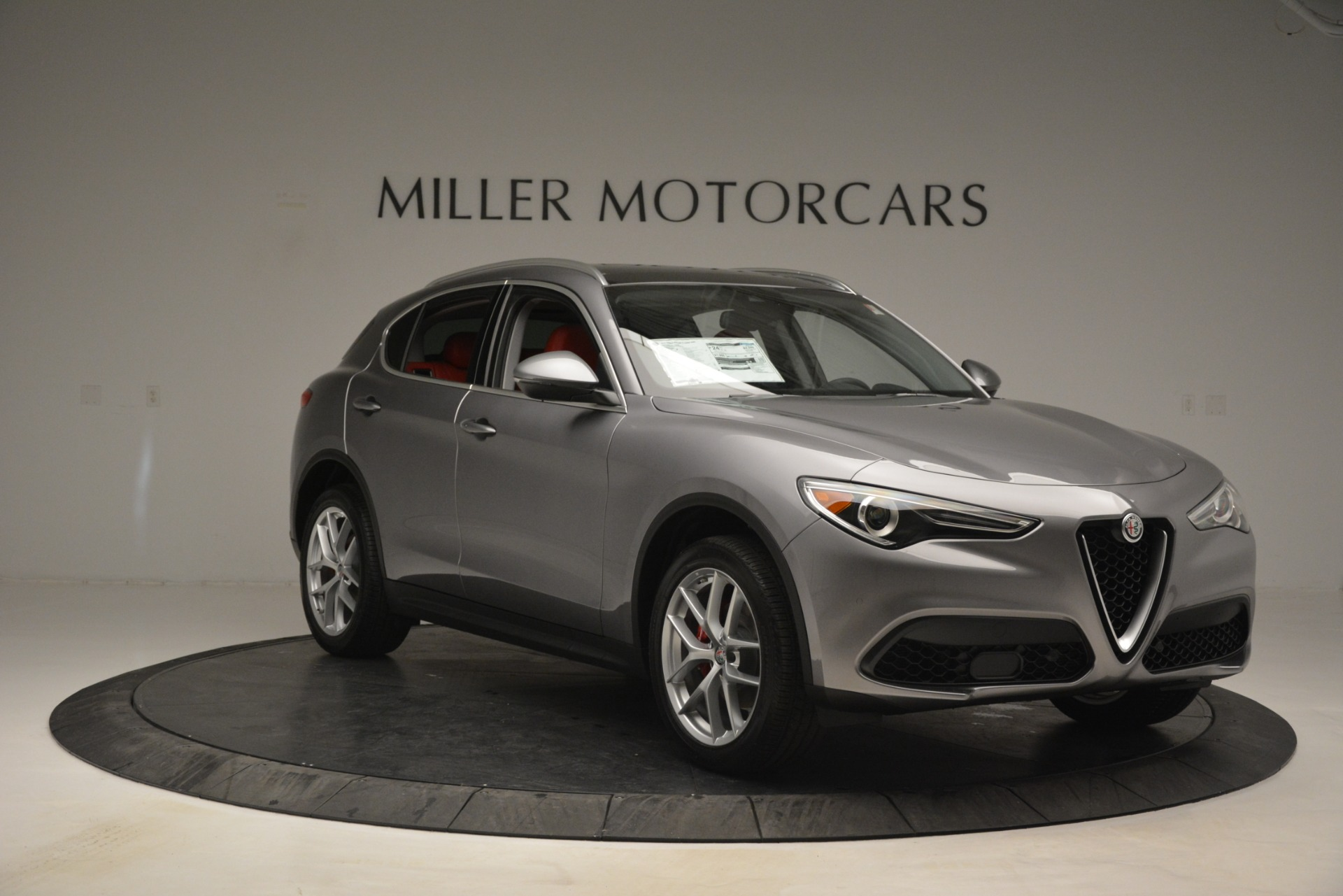 New 2019 Alfa Romeo Stelvio Ti Lusso Q4 For Sale In Westport, CT 2873_p11