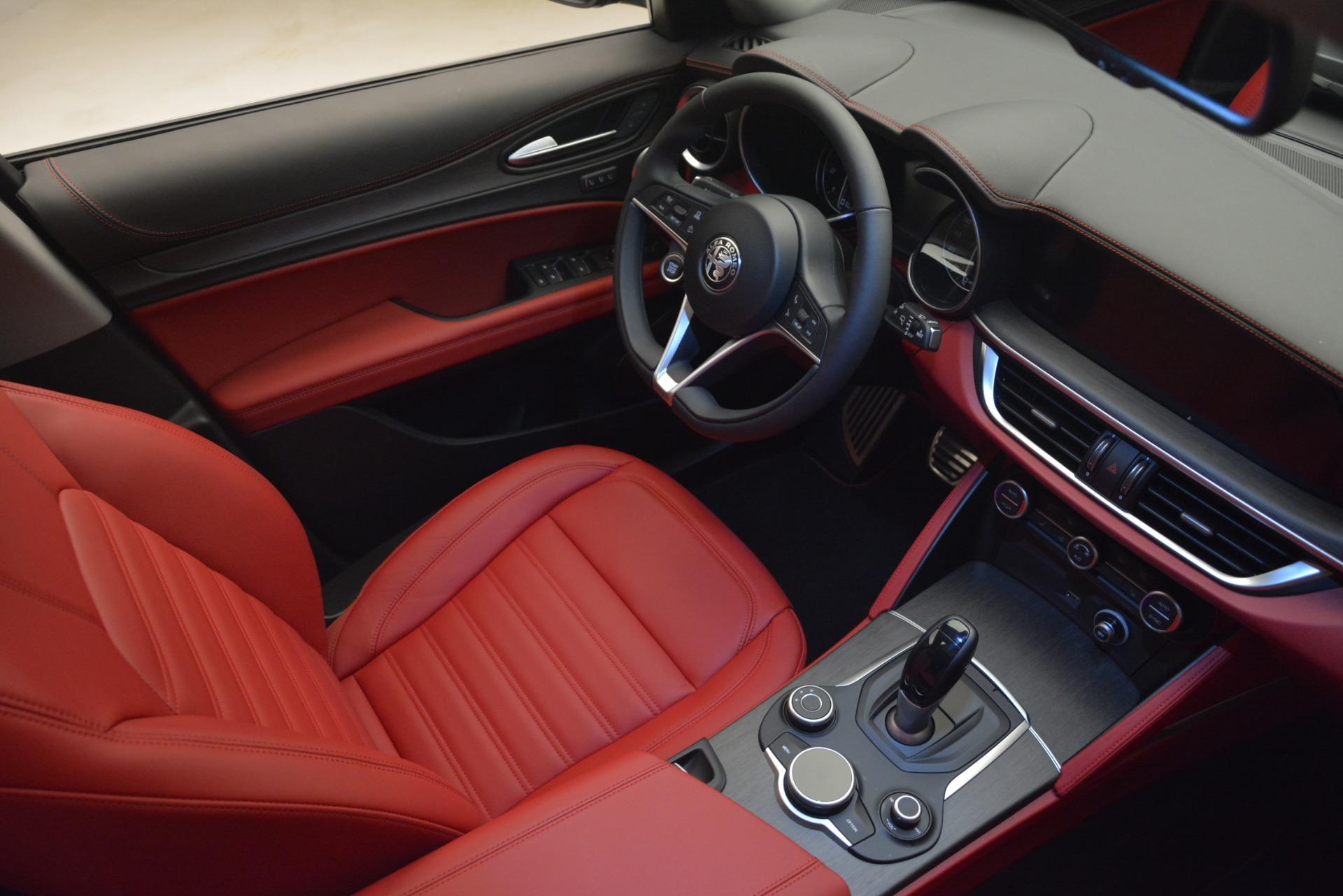 New 2019 Alfa Romeo Stelvio Ti Lusso Q4 For Sale In Westport, CT 2873_p15