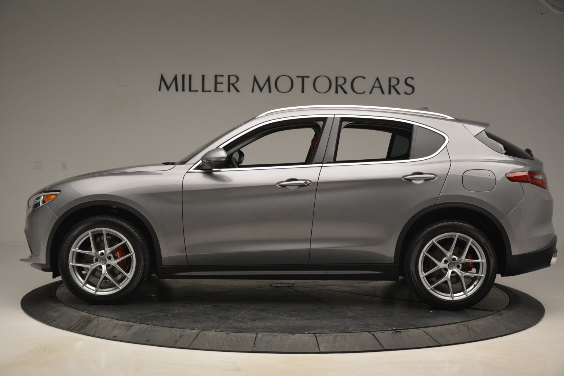 New 2019 Alfa Romeo Stelvio Ti Lusso Q4 For Sale In Westport, CT 2873_p3