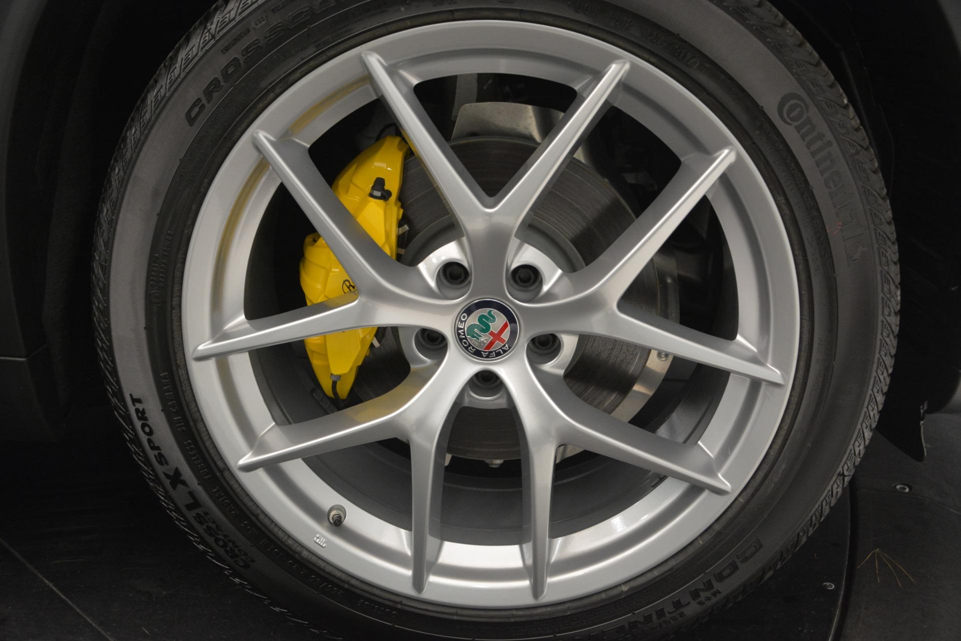 New 2019 Alfa Romeo Stelvio Ti Sport Q4 For Sale In Westport, CT 2874_p26