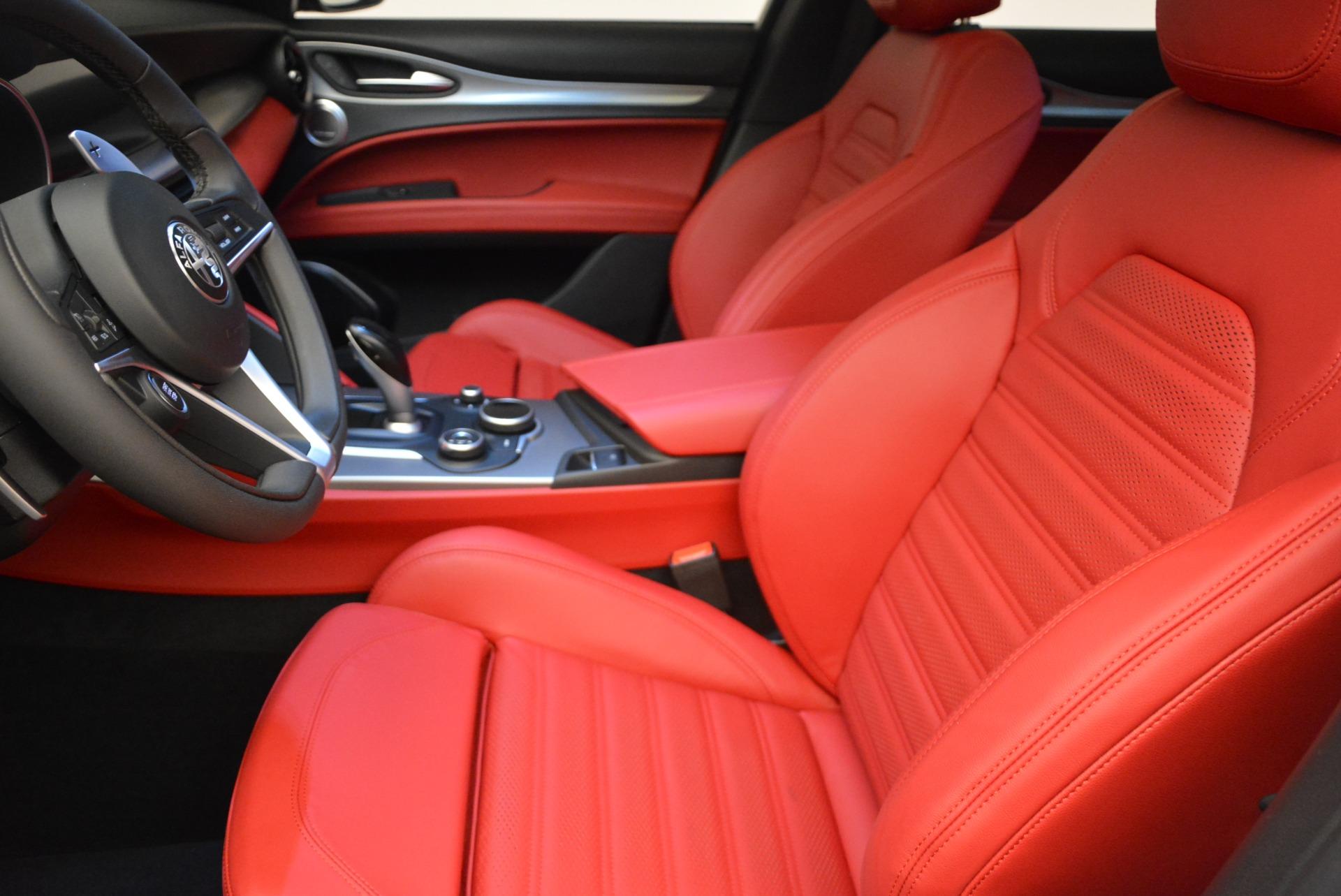 New 2019 Alfa Romeo Stelvio Ti Sport Q4 For Sale In Westport, CT 2878_p14