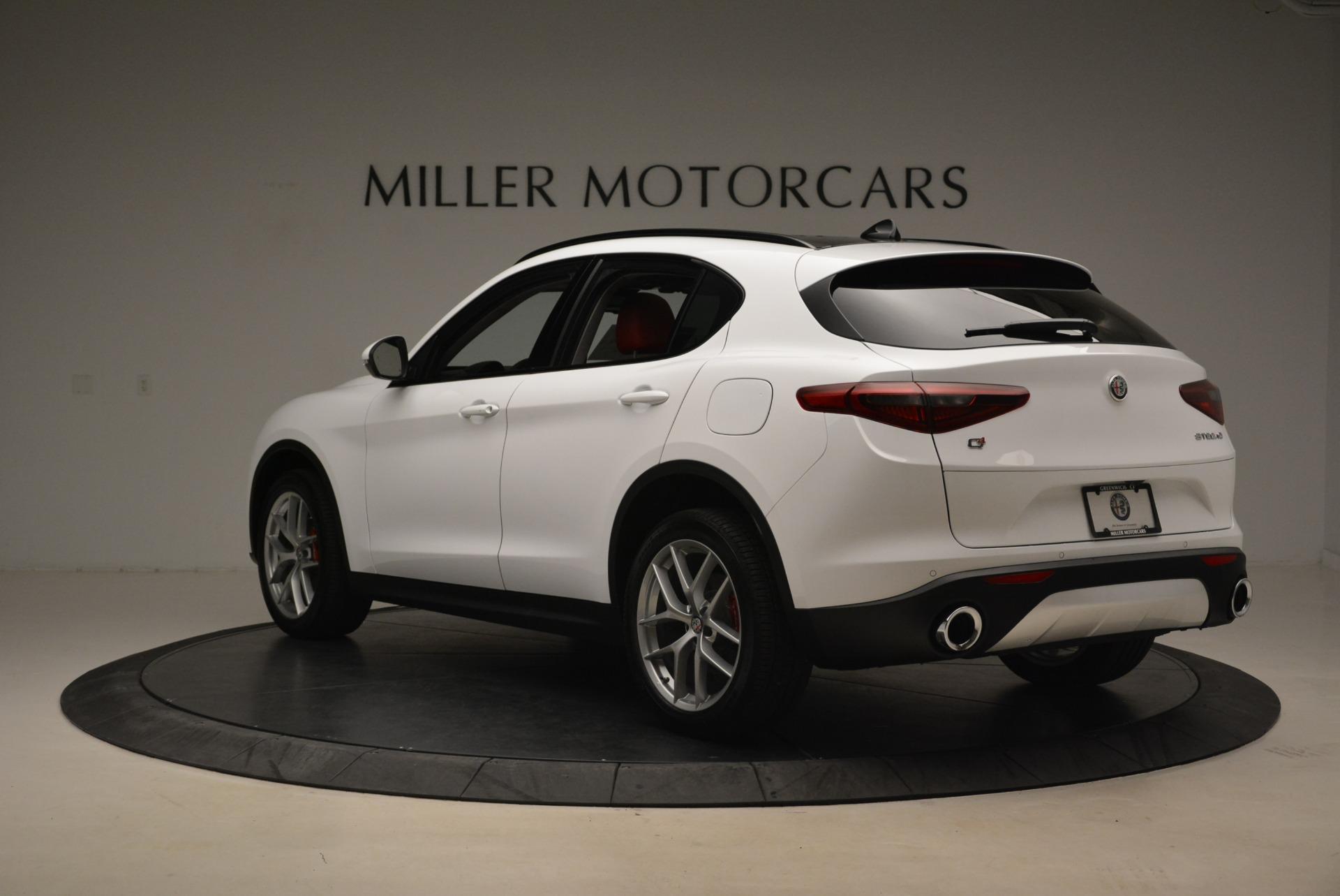 New 2019 Alfa Romeo Stelvio Ti Sport Q4 For Sale In Westport, CT 2878_p5