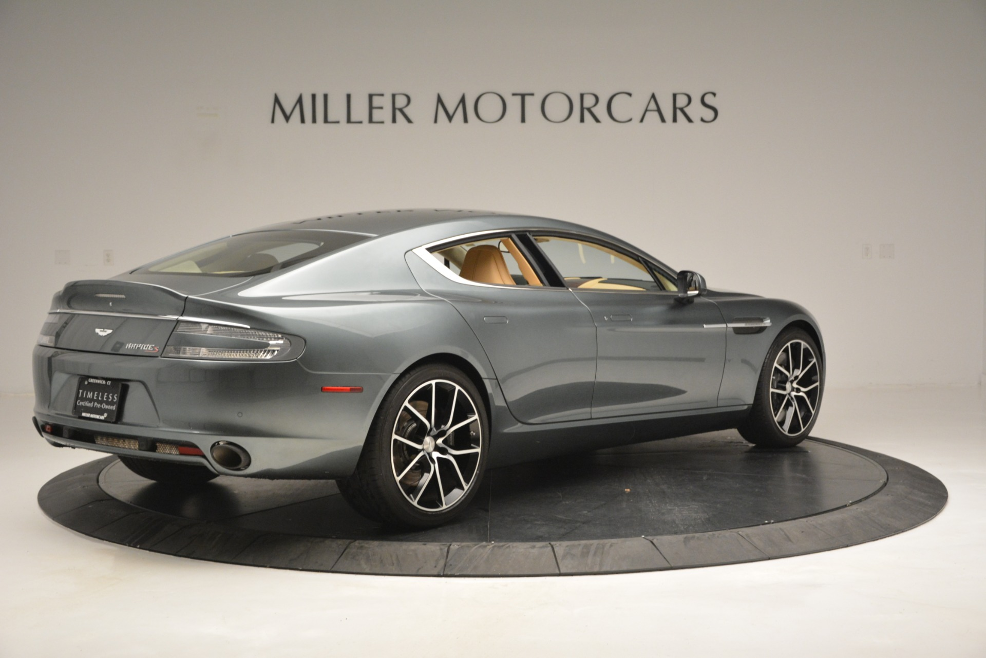 Used 2017 Aston Martin Rapide S Sedan For Sale In Westport, CT 2889_p8