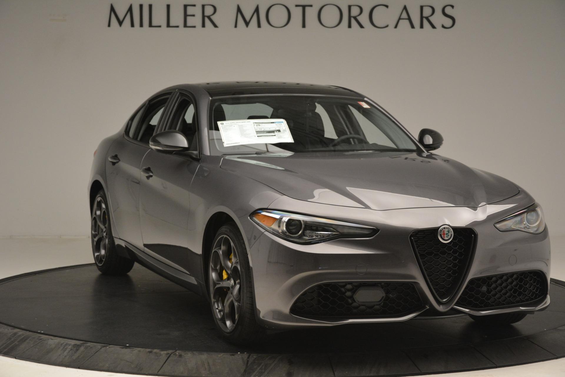 New 2019 Alfa Romeo Giulia Sport Q4 For Sale In Westport, CT 2893_p11