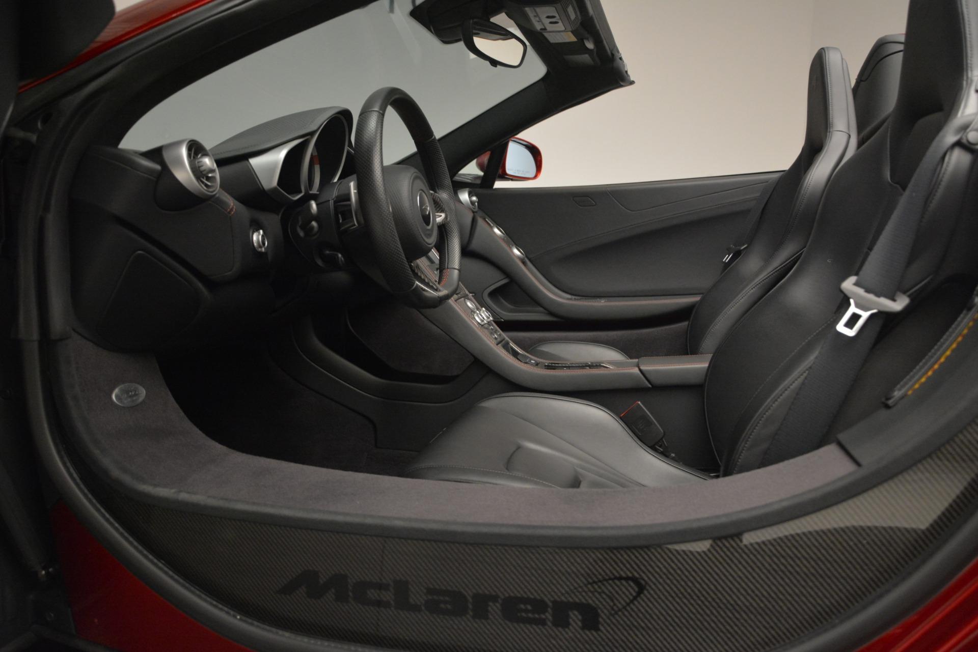 Used 2015 McLaren 650S Spider For Sale In Westport, CT 2904_p25