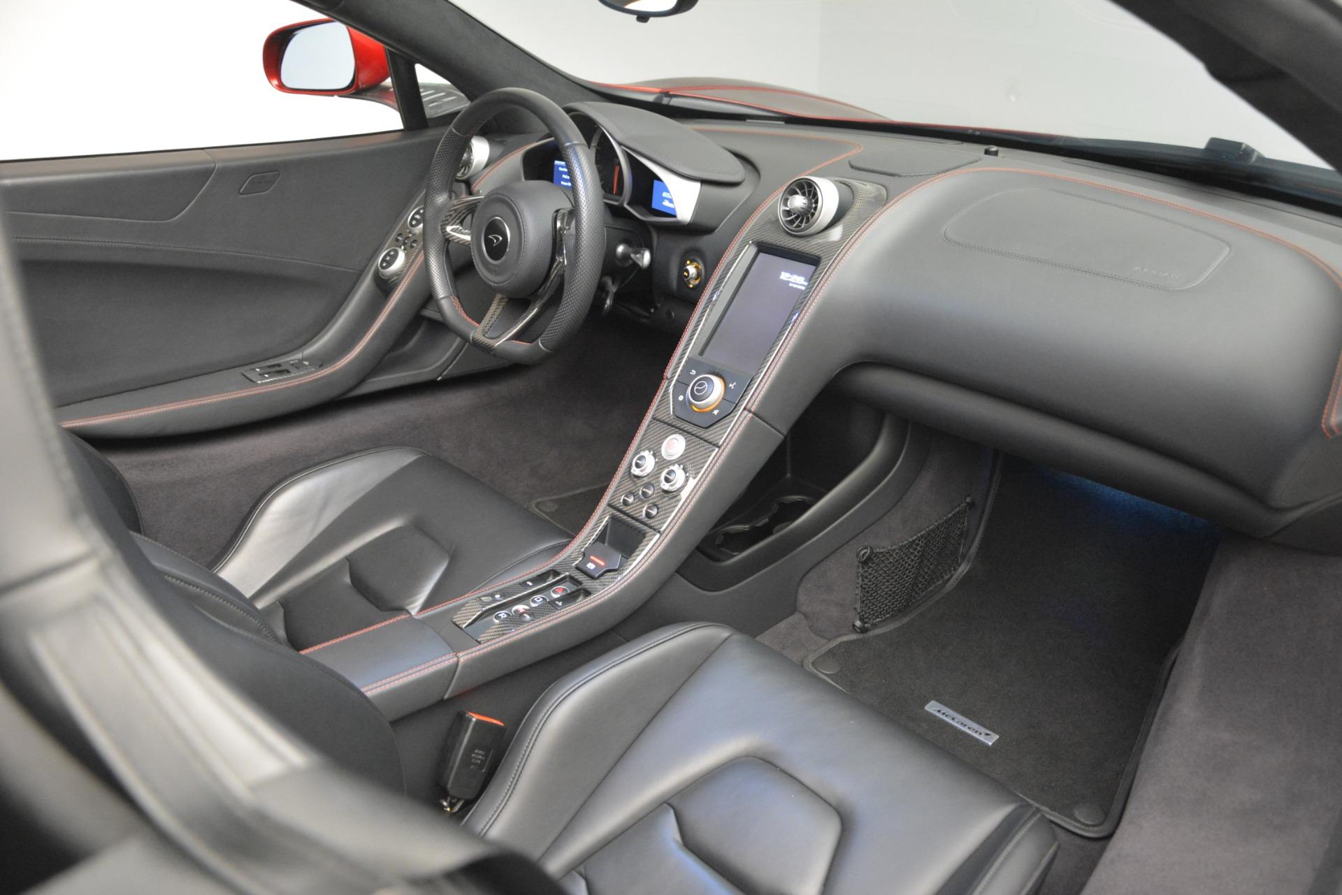 Used 2015 McLaren 650S Spider For Sale In Westport, CT 2904_p27