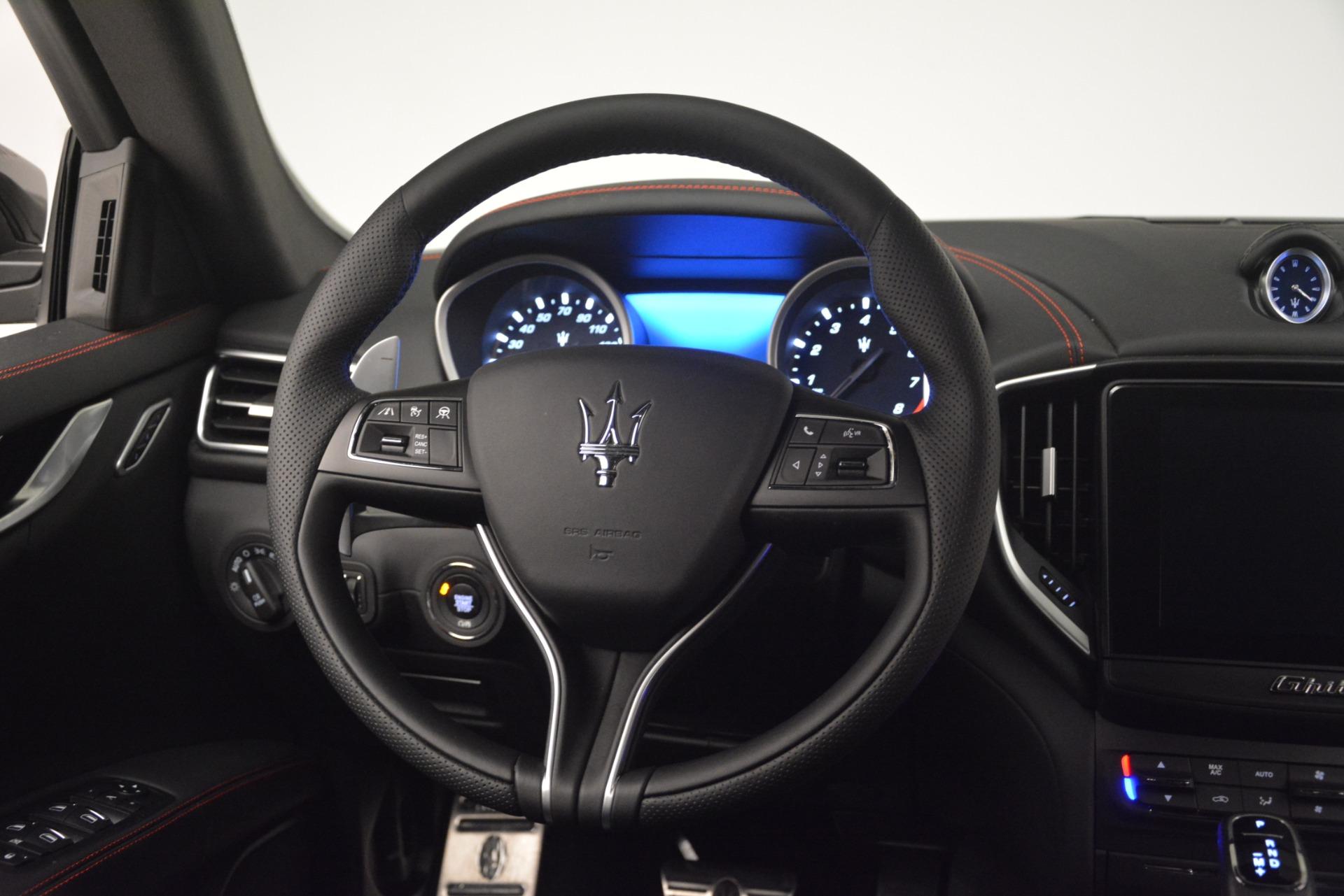 New 2019 Maserati Ghibli S Q4 GranSport For Sale In Westport, CT 2924_p17