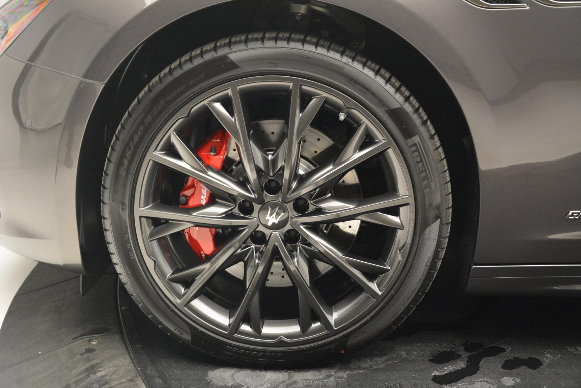 New 2019 Maserati Ghibli S Q4 GranSport For Sale In Westport, CT 2925_p26