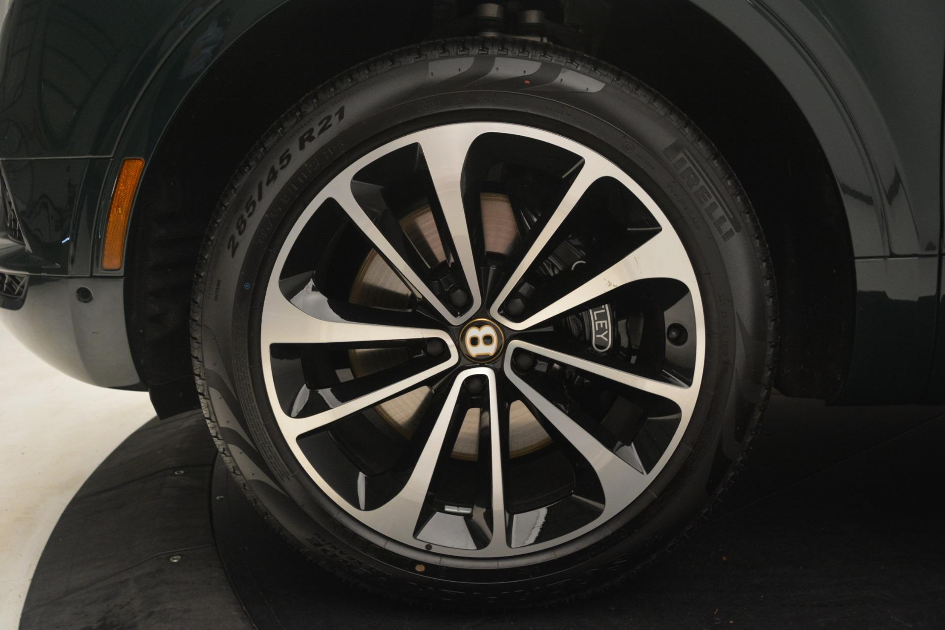 New 2019 Bentley Bentayga V8 For Sale In Westport, CT 2940_p14