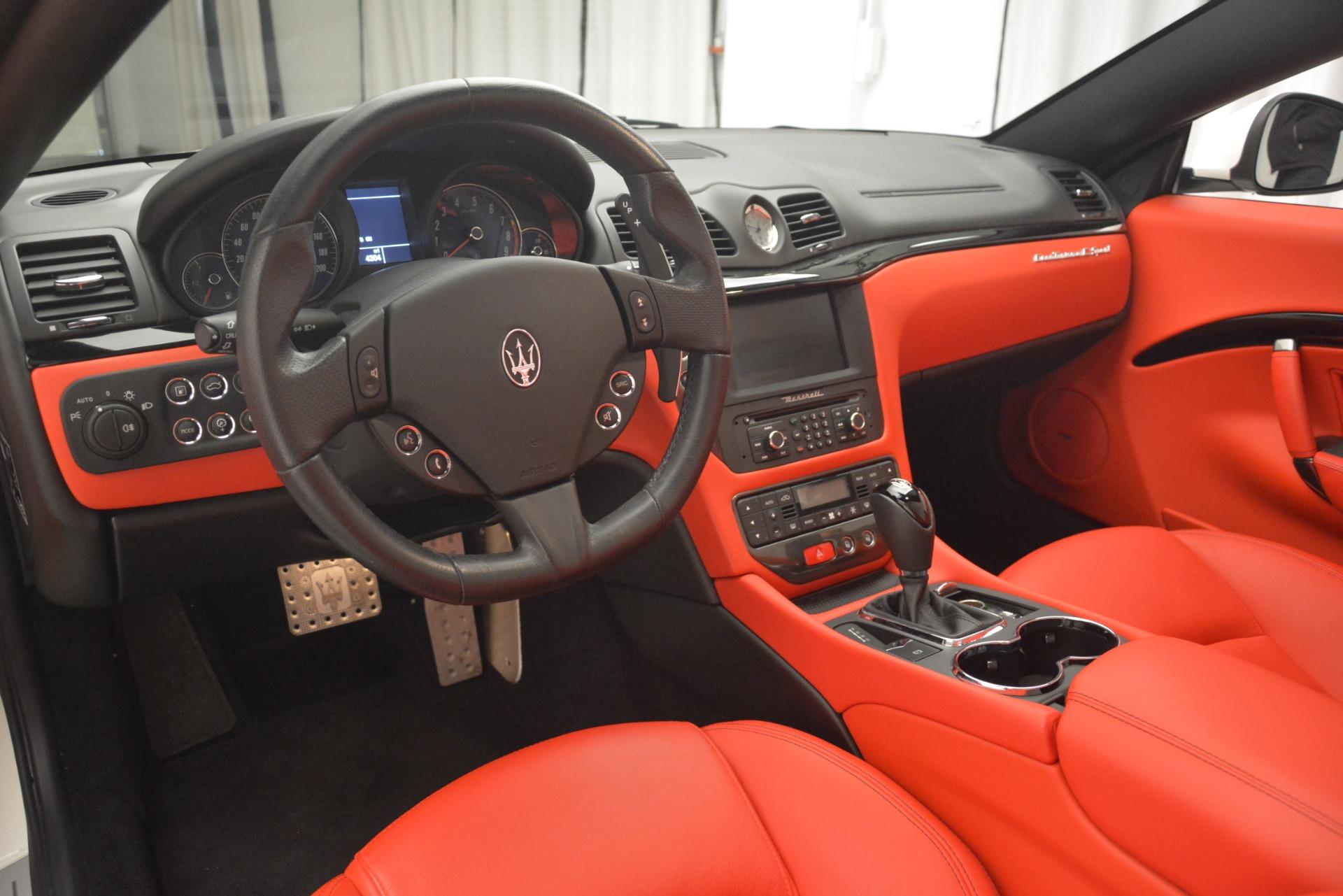 Used 2017 Maserati GranTurismo Sport For Sale In Westport, CT 2962_p26