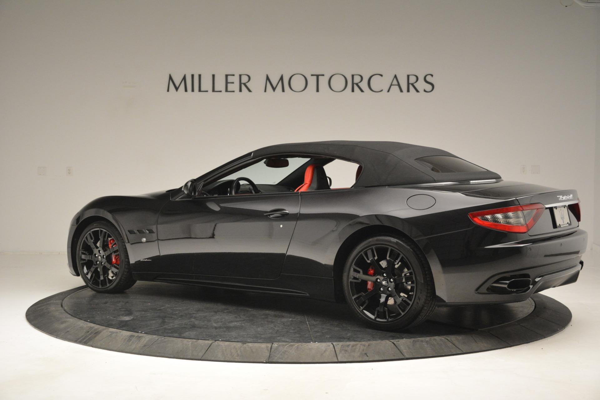 Used 2015 Maserati GranTurismo Sport For Sale In Westport, CT 2963_p16