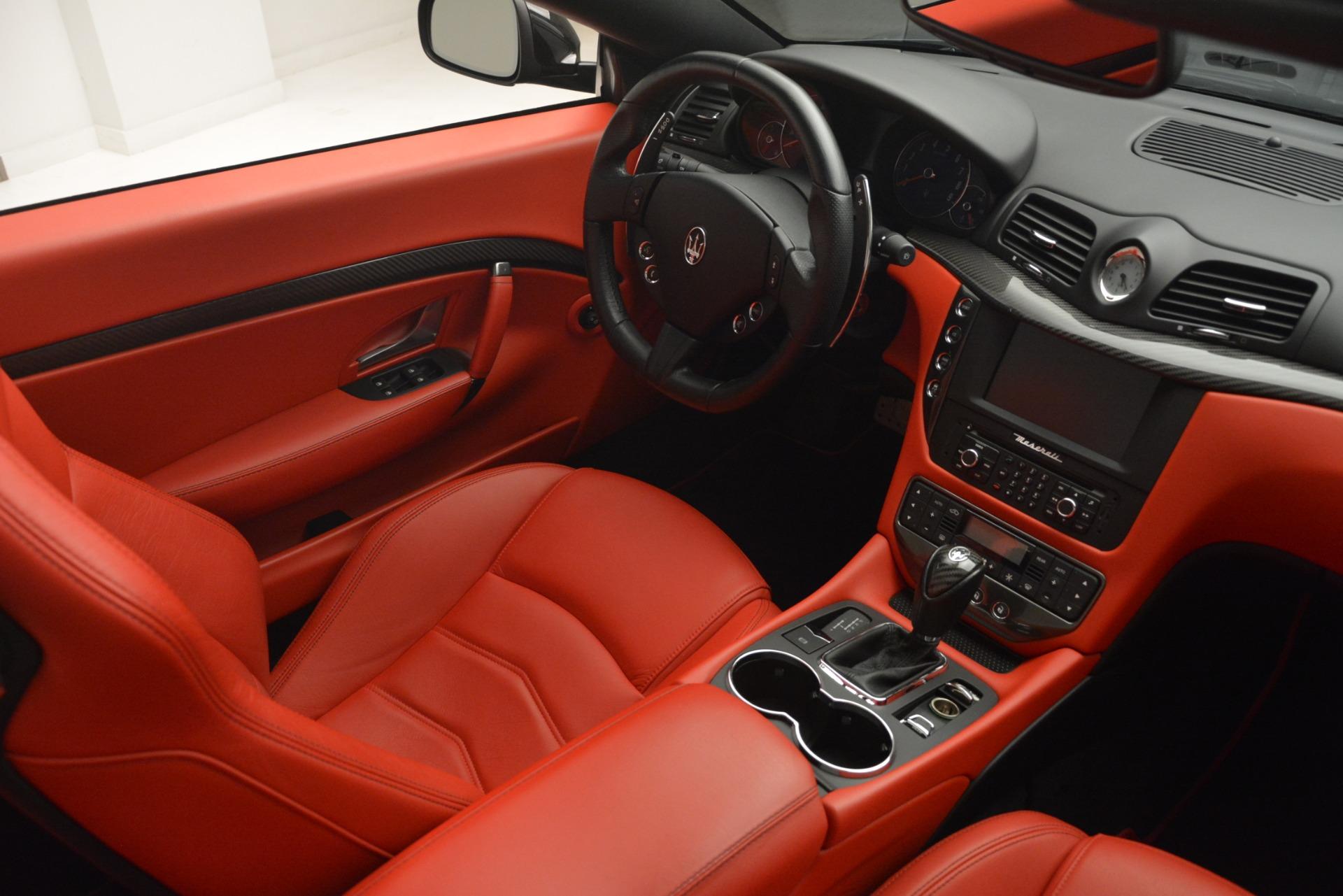 Used 2015 Maserati GranTurismo Sport For Sale In Westport, CT 2963_p27