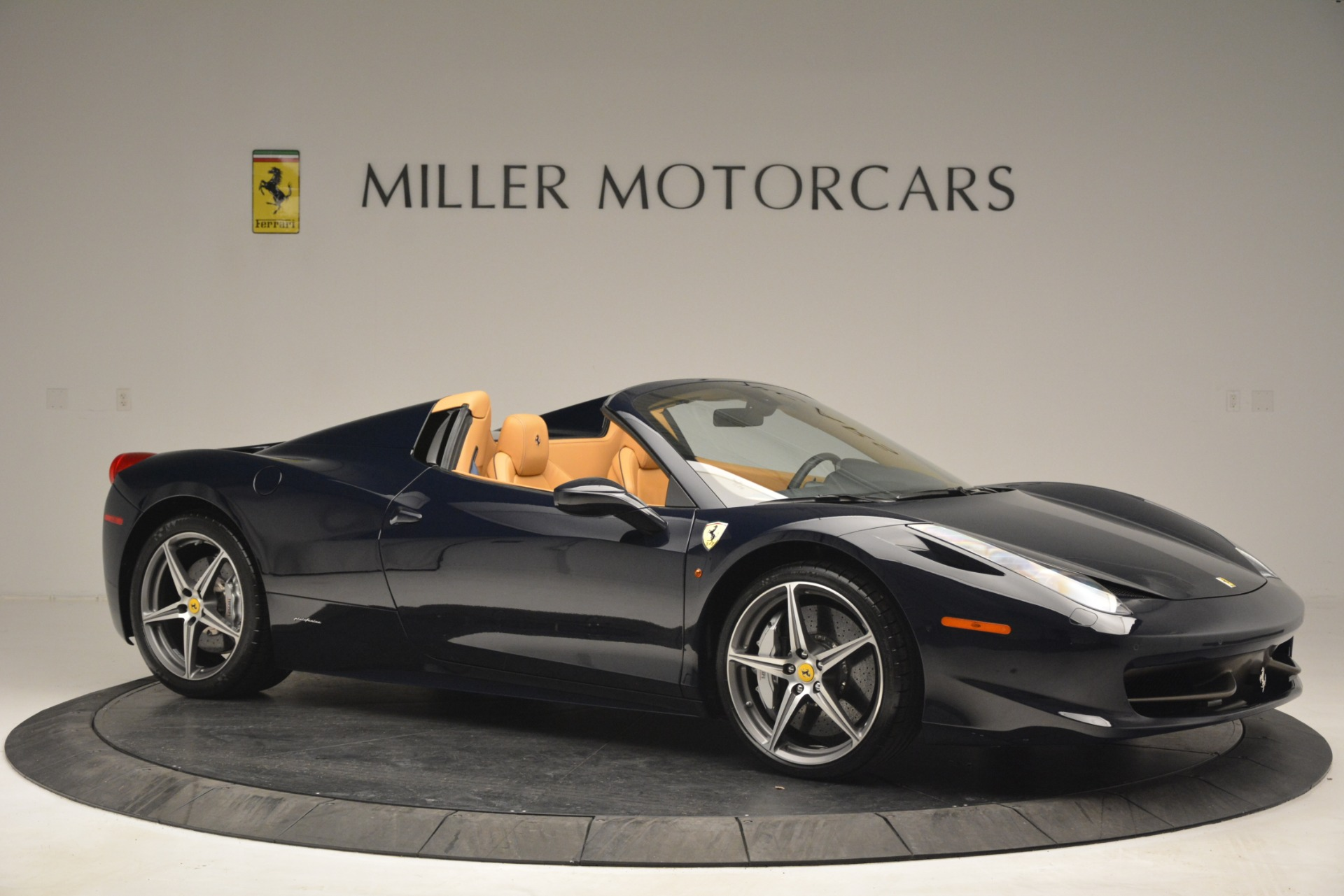 Used 2014 Ferrari 458 Spider  For Sale In Westport, CT 2964_p10