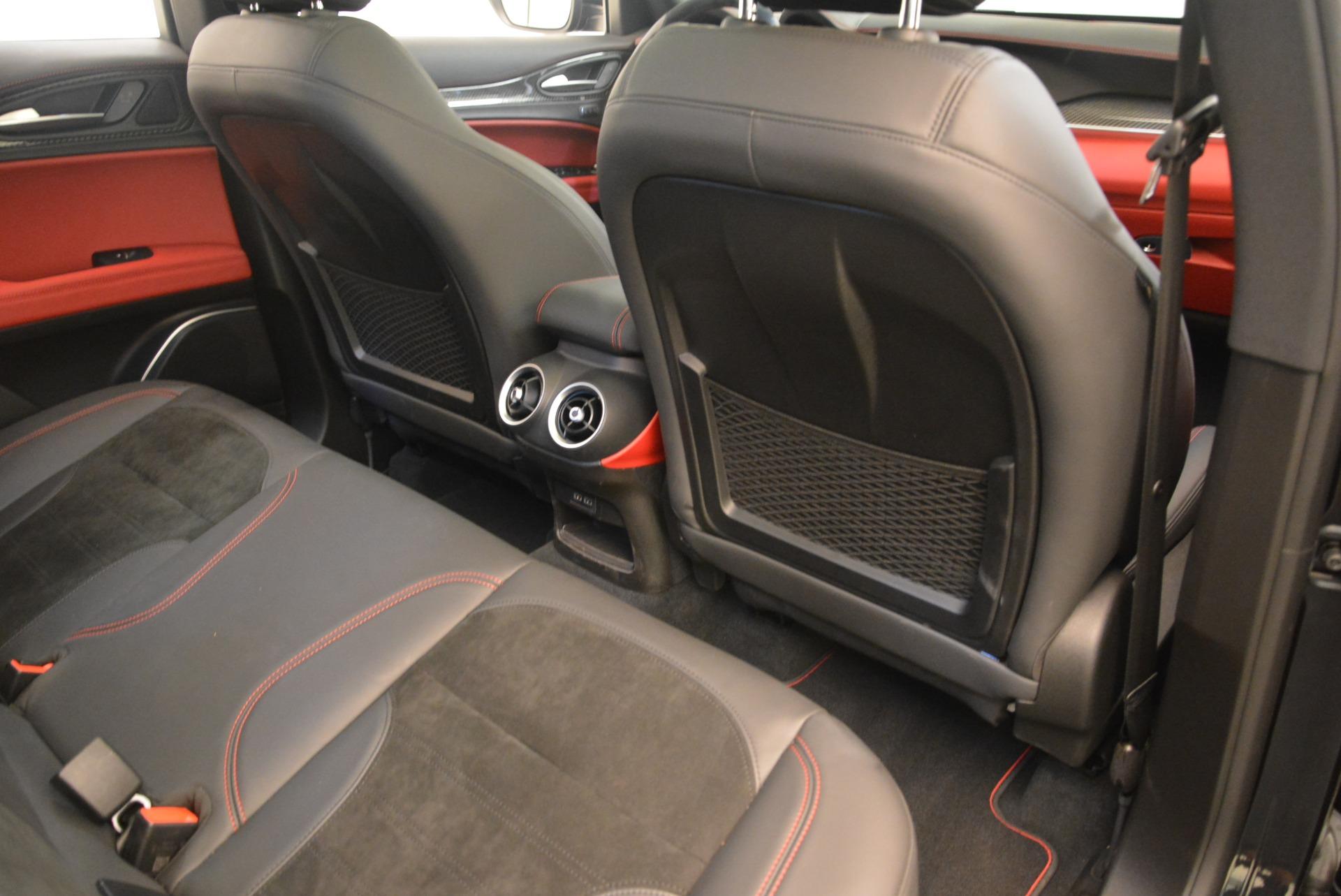 New 2019 Alfa Romeo Stelvio Quadrifoglio For Sale In Westport, CT 2976_p22