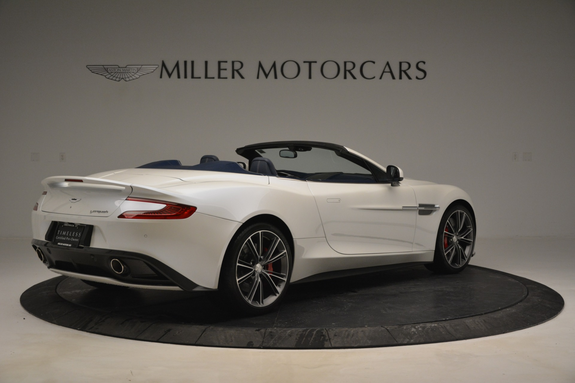 Used 2015 Aston Martin Vanquish Convertible For Sale In Westport, CT 2982_p8