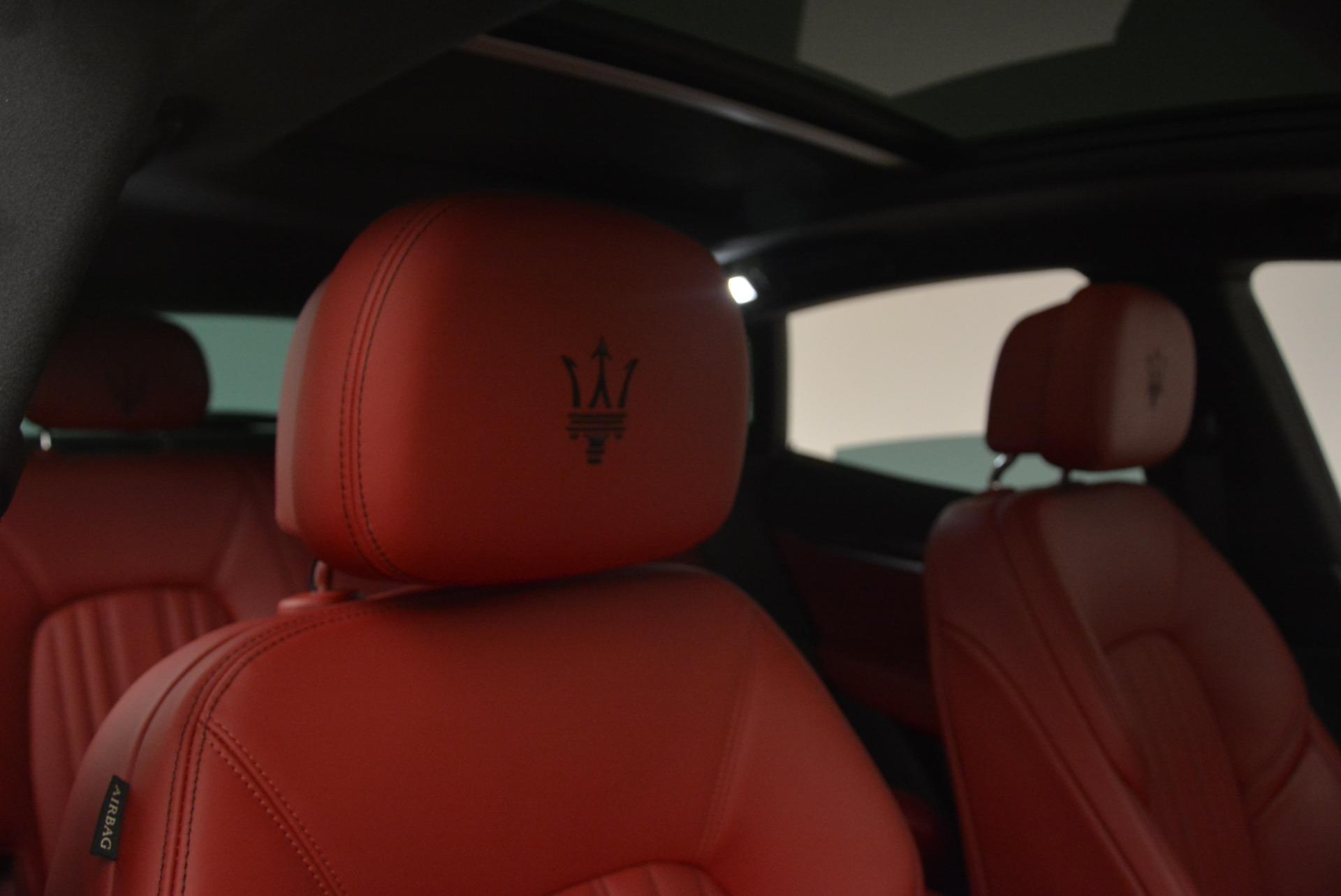 New 2019 Maserati Levante S Q4 GranLusso For Sale In Westport, CT 3003_p22