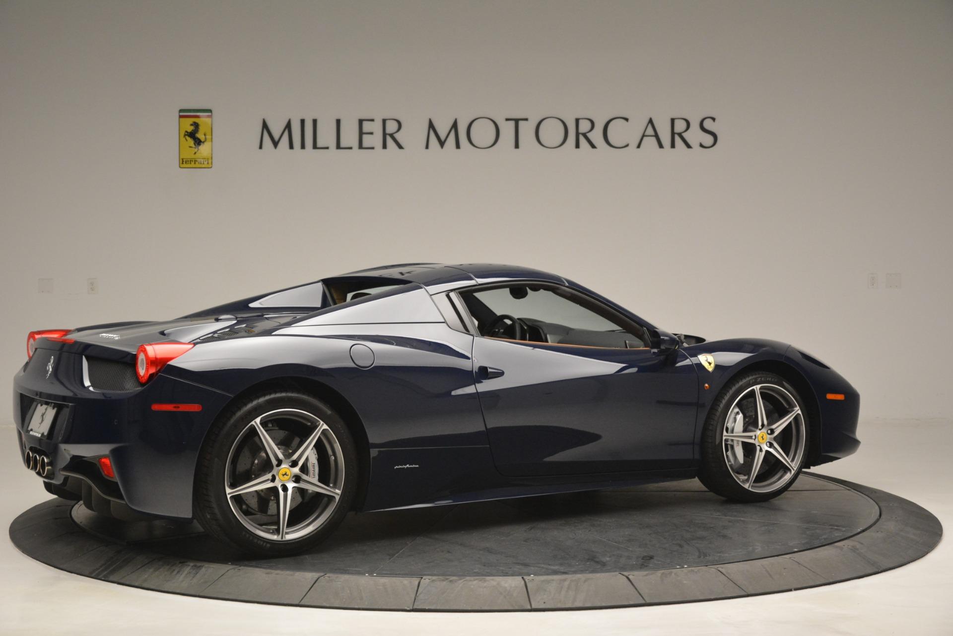 Used 2014 Ferrari 458 Spider  For Sale In Westport, CT 3013_p20