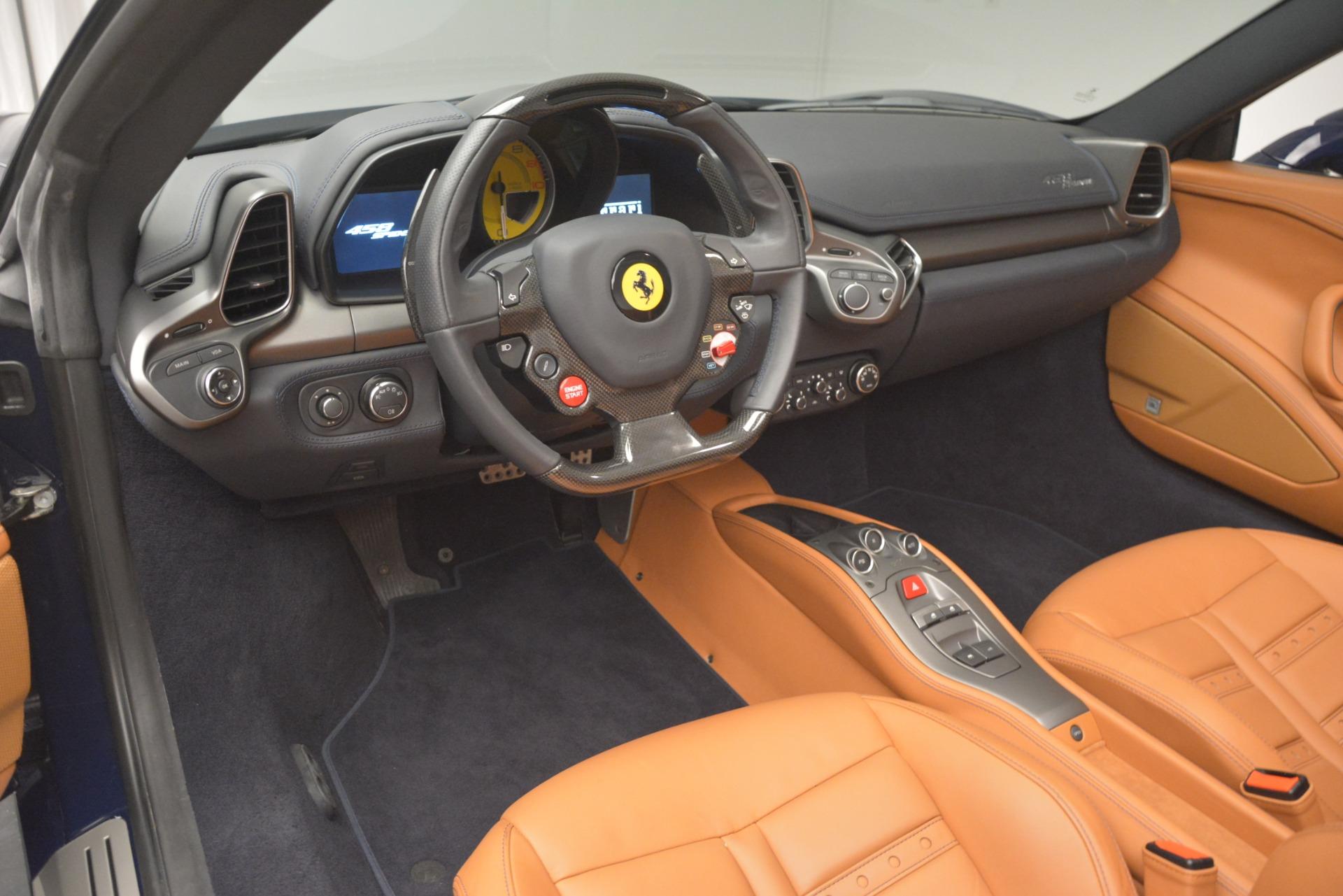Used 2014 Ferrari 458 Spider  For Sale In Westport, CT 3013_p25